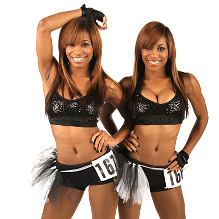 2013 Lady Cats Auditions - Kirsten & Kristen