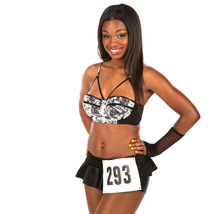 2013 Lady Cats Auditions - Marshae