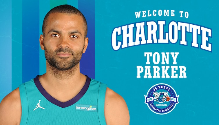 more photos fc999 62966 Hornets Sign Free-Agent Guard Tony Parker | Charlotte Hornets