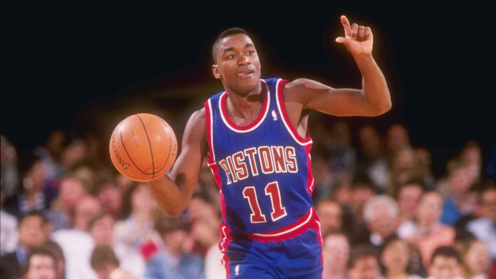 Legendary Moments In NBA History: Thomas becomes Pistons' all-time ...