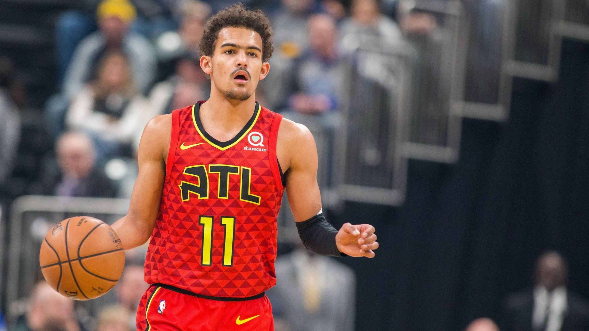 Trae Young Nominated For Kia Rookie Of The Month Nba Com