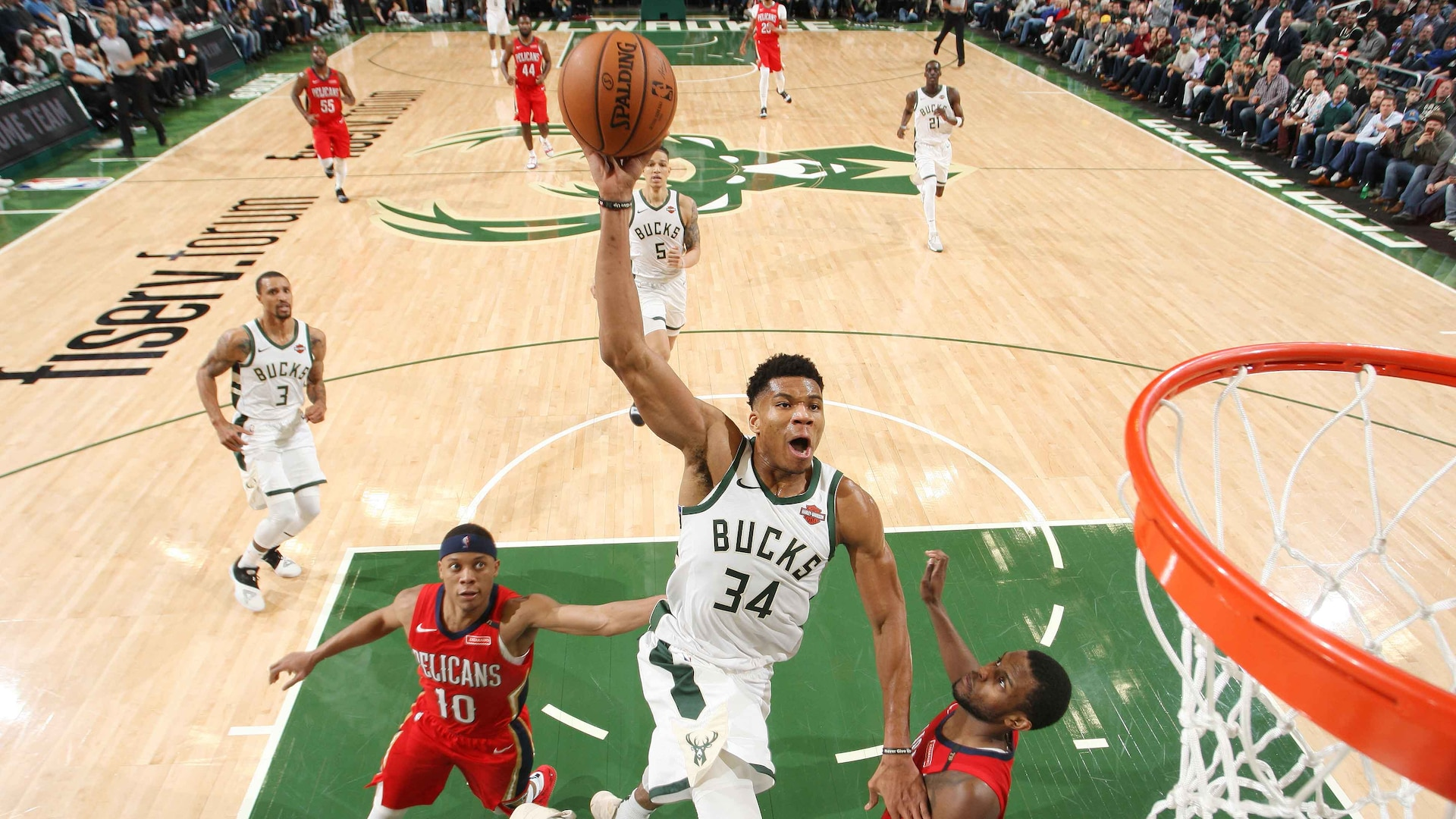 Antetokounmpo To Davis Come To The Bucks Man Nba Com