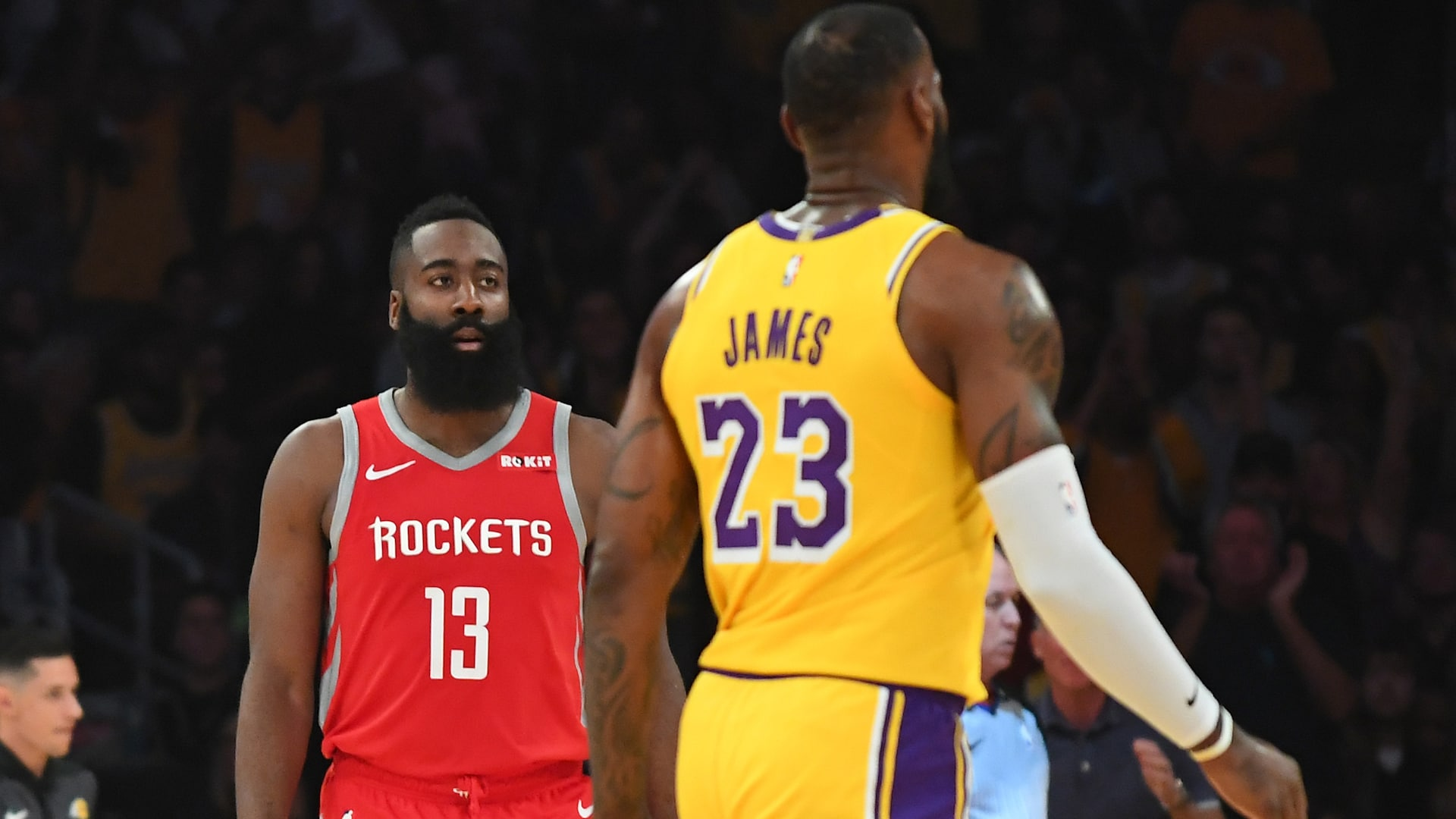 5 Can T Miss Matchups James Harden Vs Lebron James Nba Com