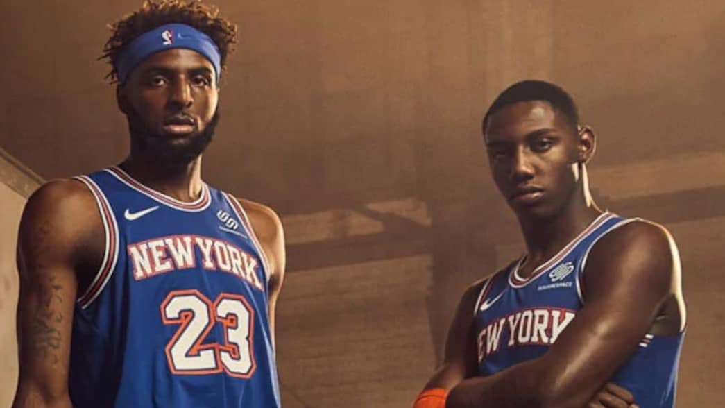 New York Knicks unveil Statement Edition uniform for 2019 ...