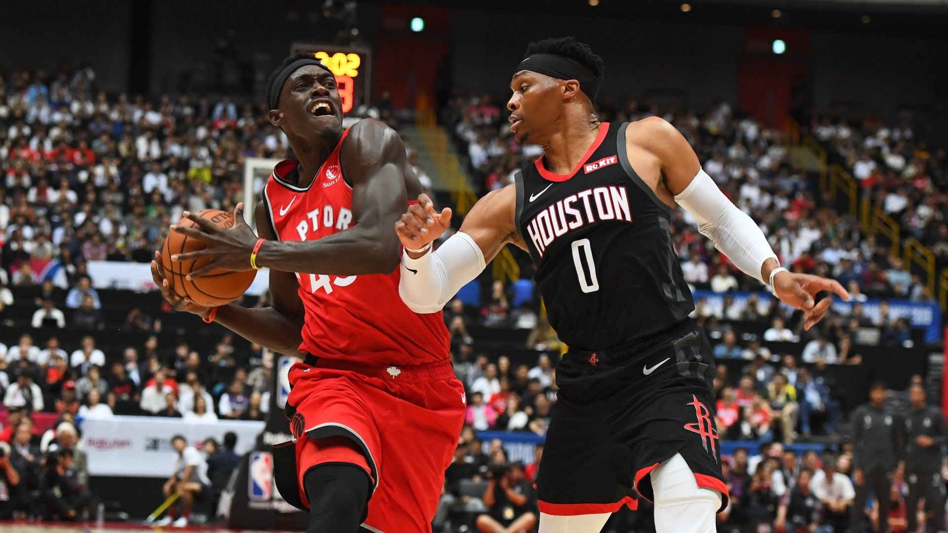Game Recap Raptors 134 Rockets 129 Nba Com
