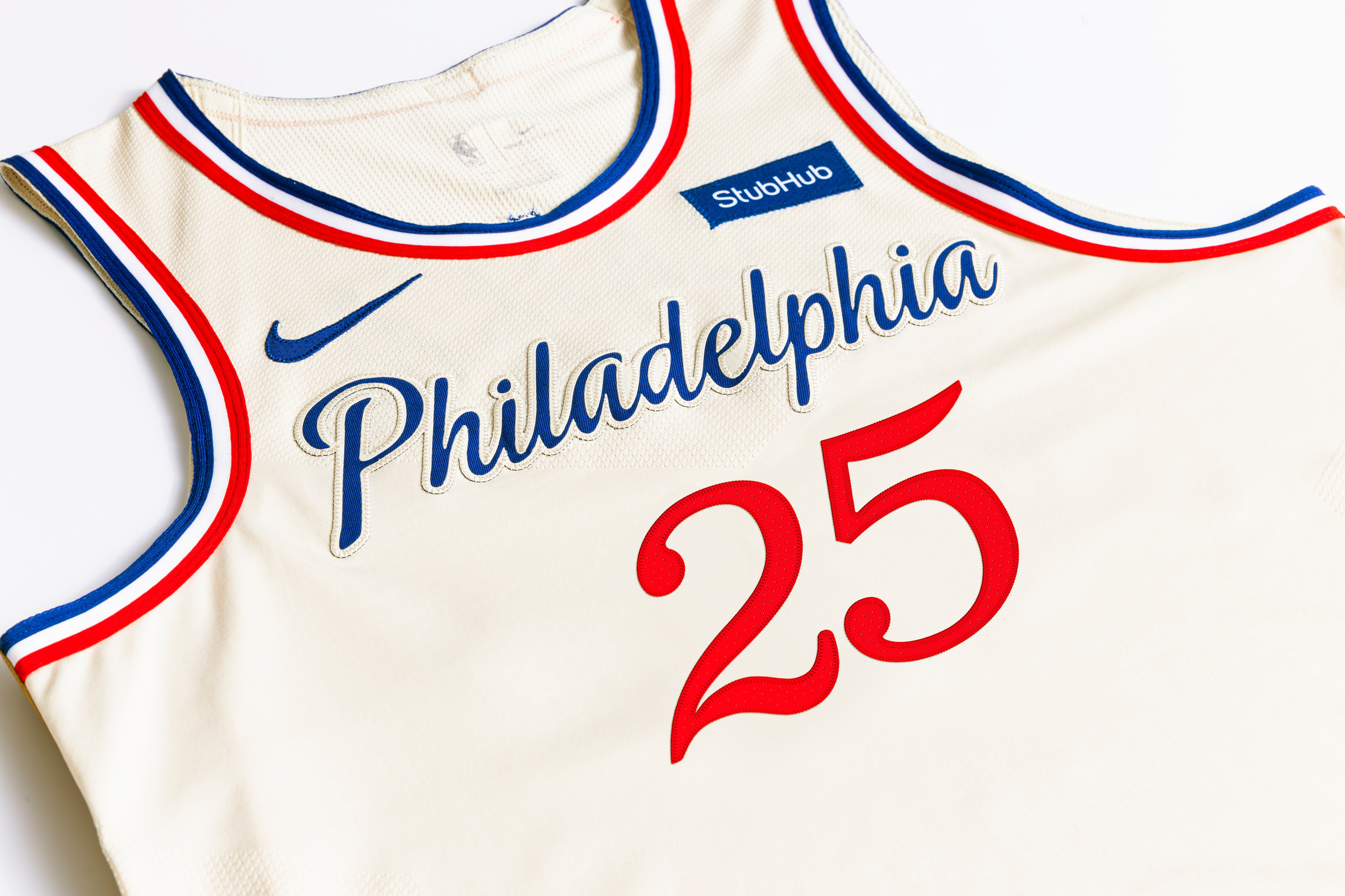 76ers jersey history
