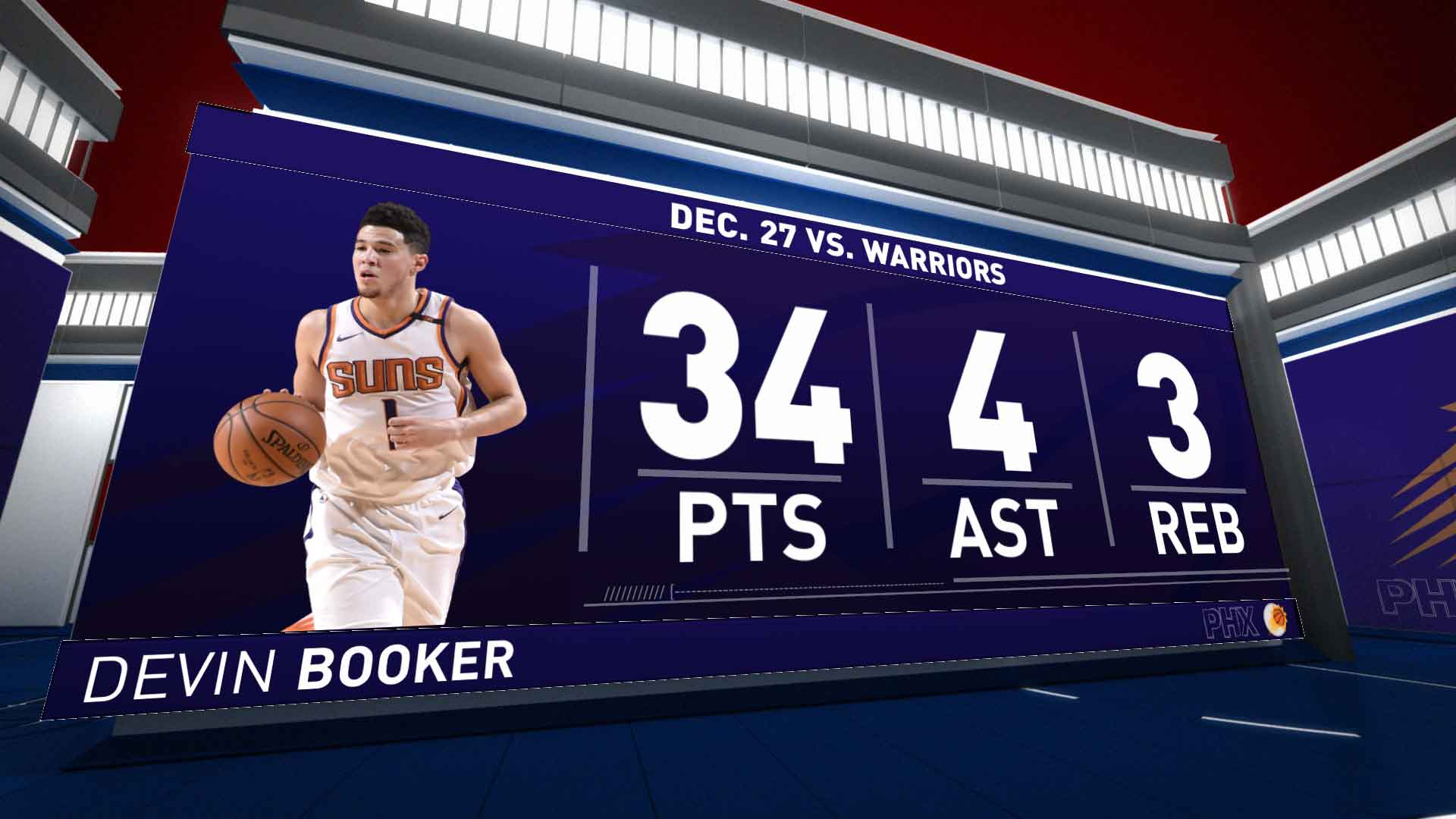 Highlights: Devin Booker | Suns vs. Warriors