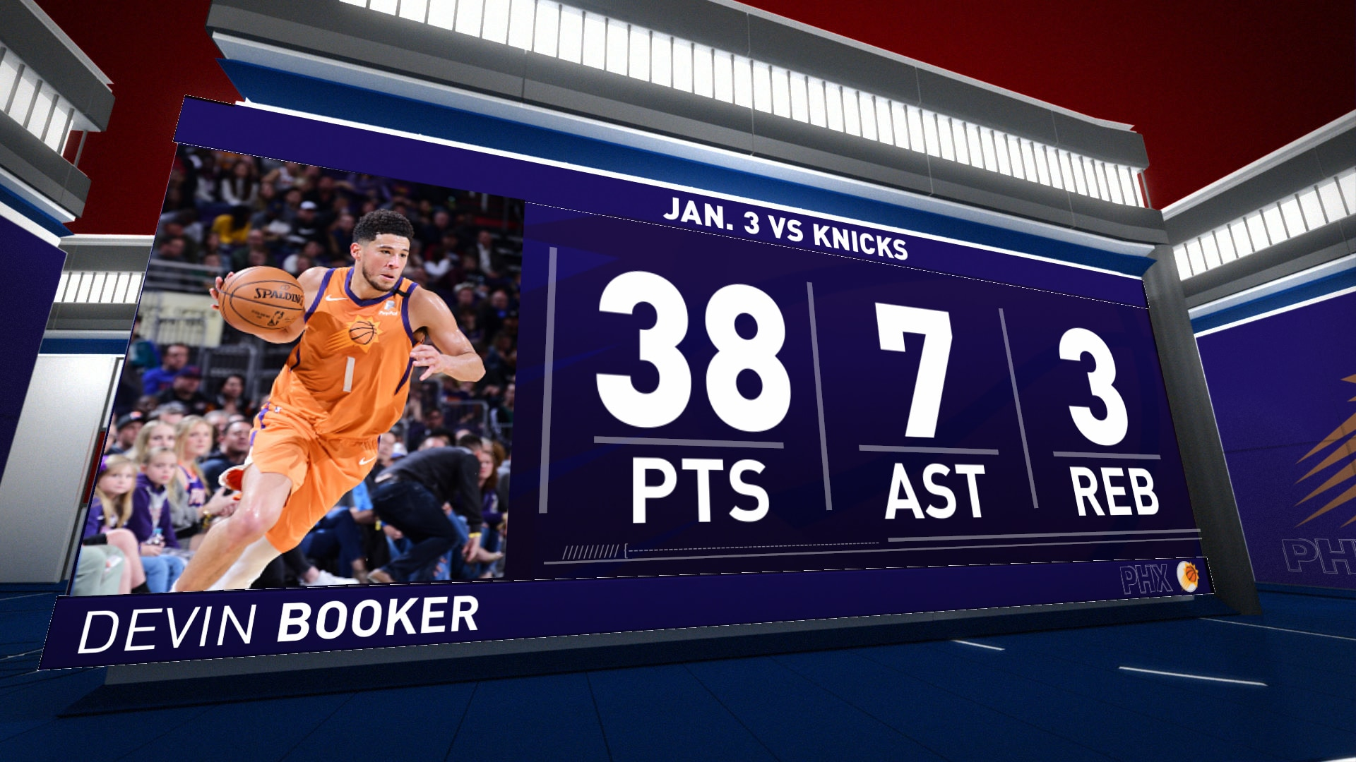 Highlights: Devin Booker | Suns vs. Knicks