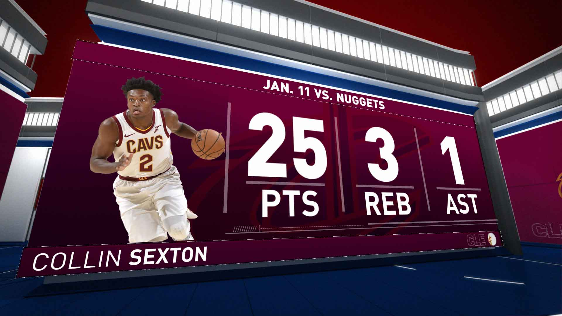 Highlights: Collin Sexton | Cavaliers vs. Nuggets