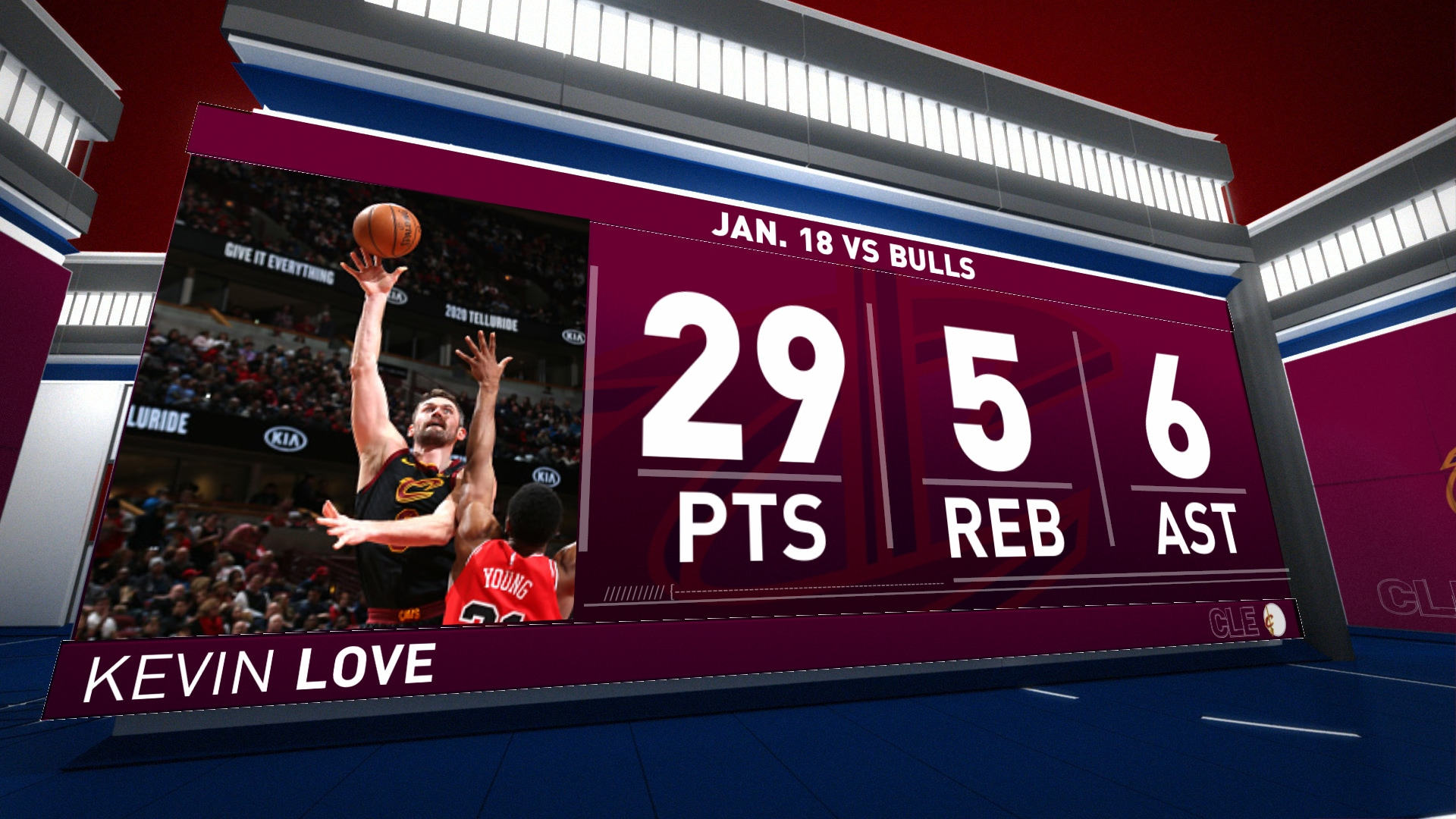 Highlights: Kevin Love | Cavaliers vs. Bulls