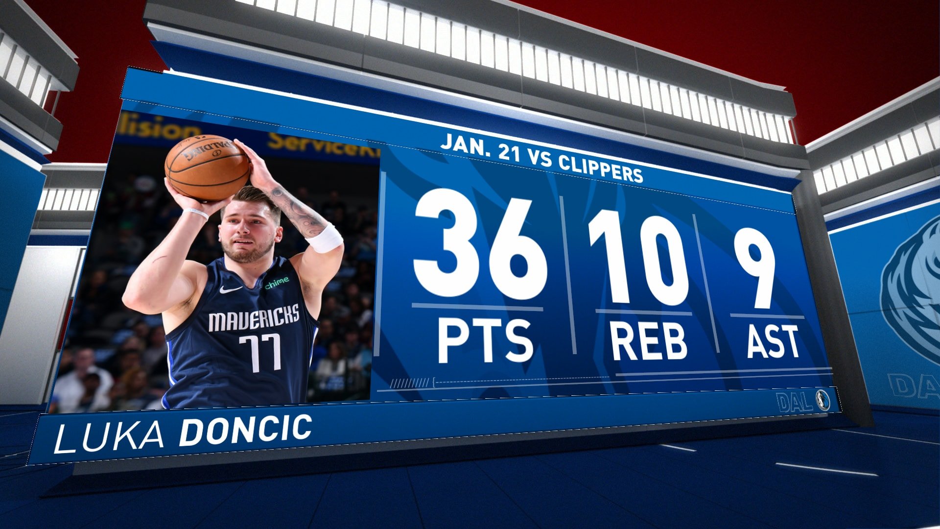 Highlights Luka Doncic Mavericks Vs Clippers Nba Com