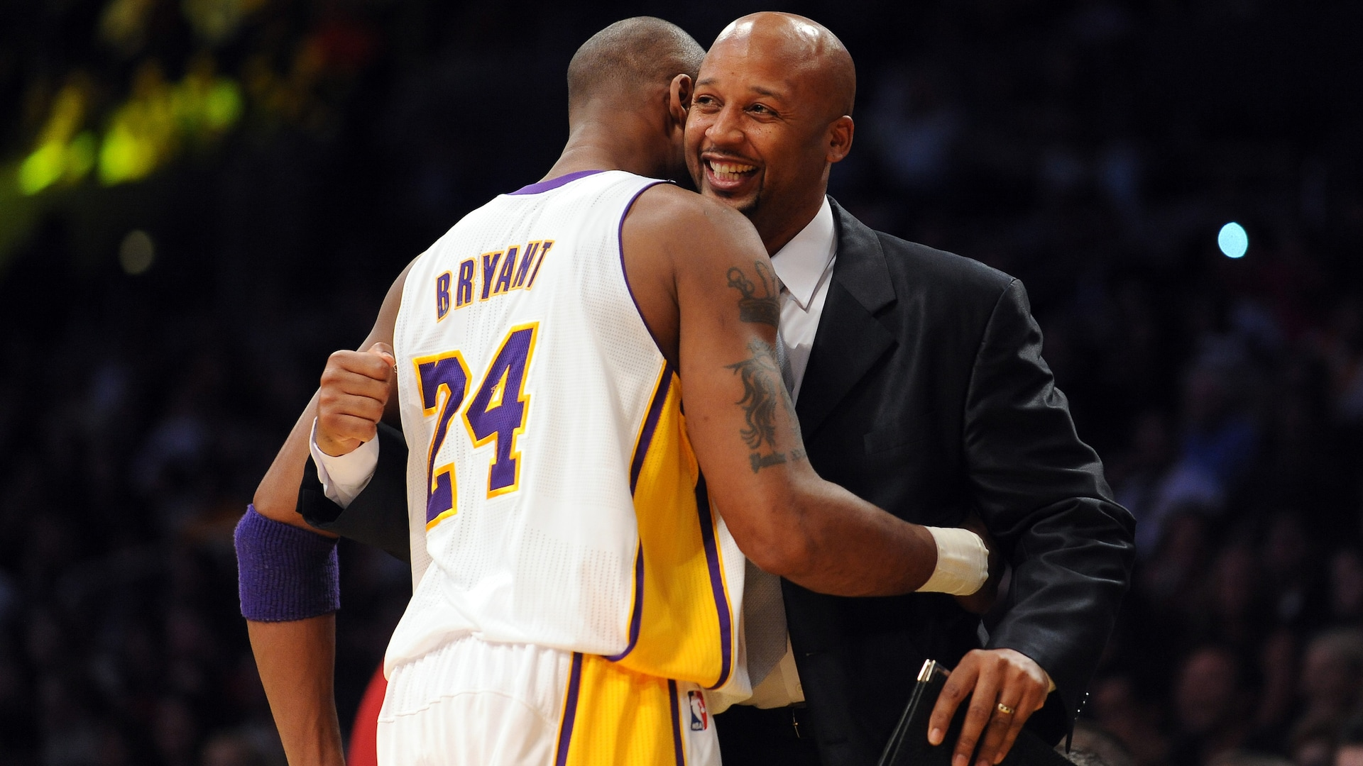 Brian Shaw Reacts to Report of Kobe Passing Away | NBA.com