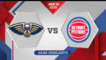 60-Second Recap: New Orleans Pelicans vs. Detroit Pistons