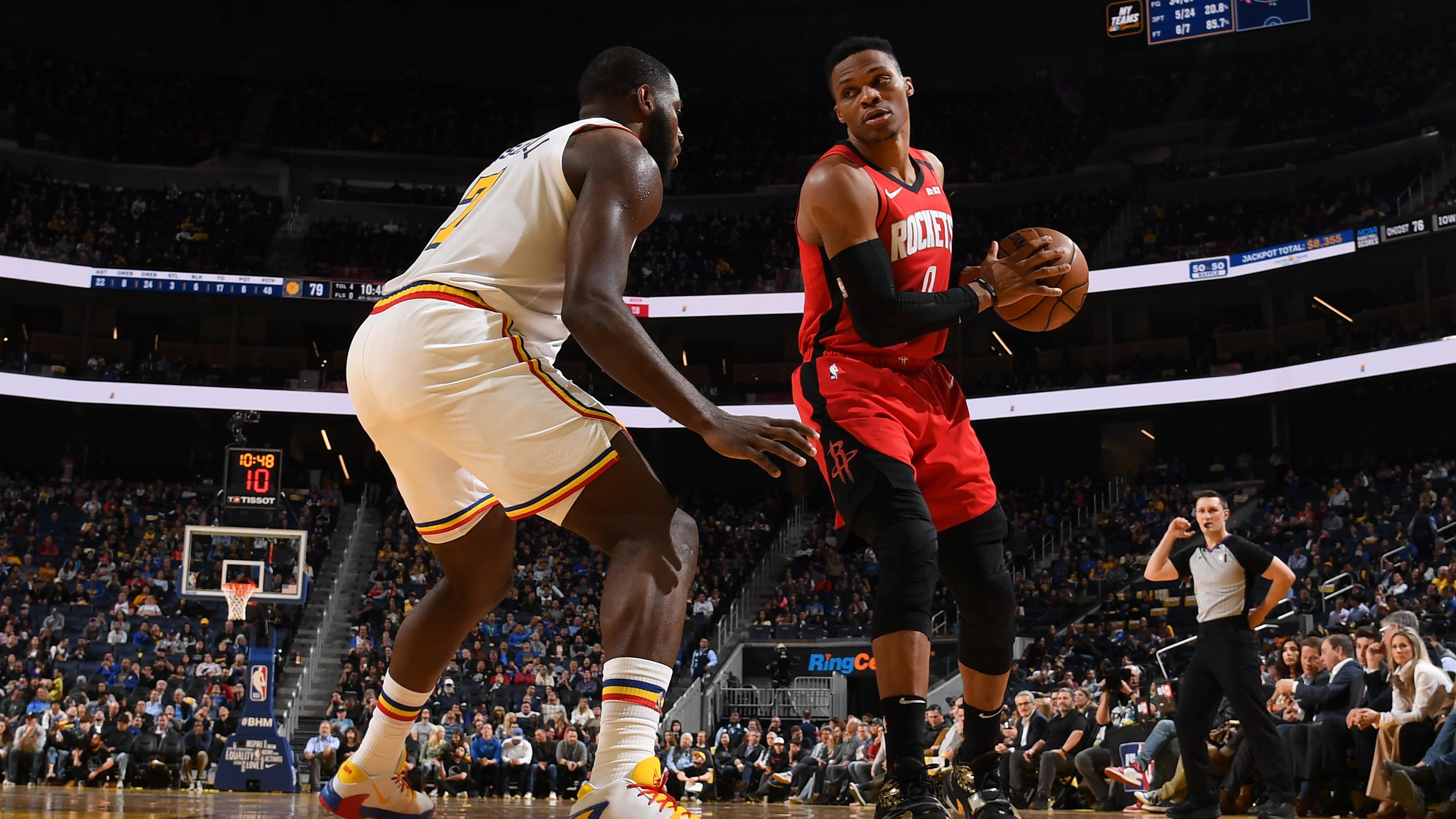 GAME RECAP: Rockets 135, Warriors 105