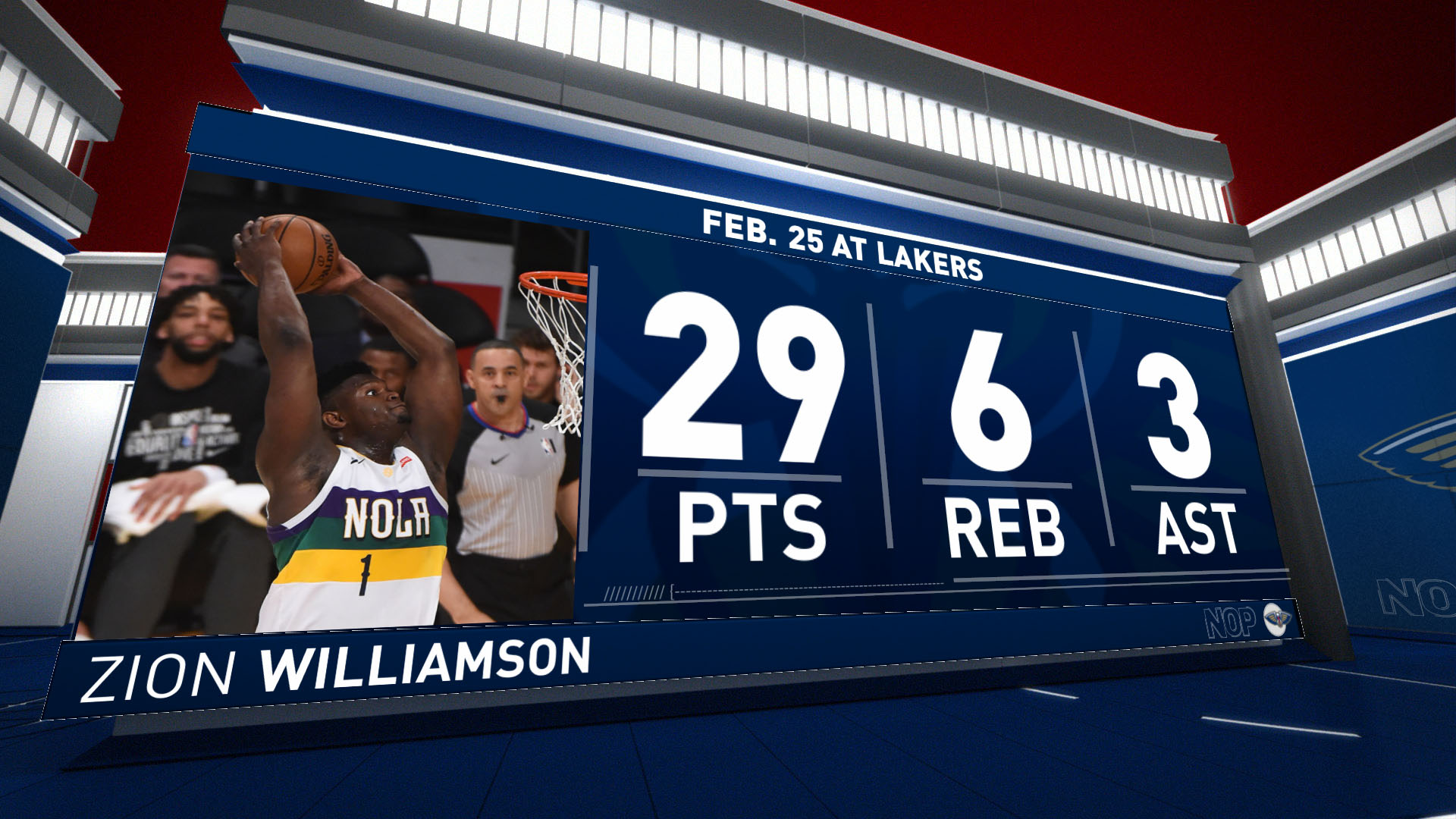 Highlights: Zion Williamson | Pelicans vs. Lakers
