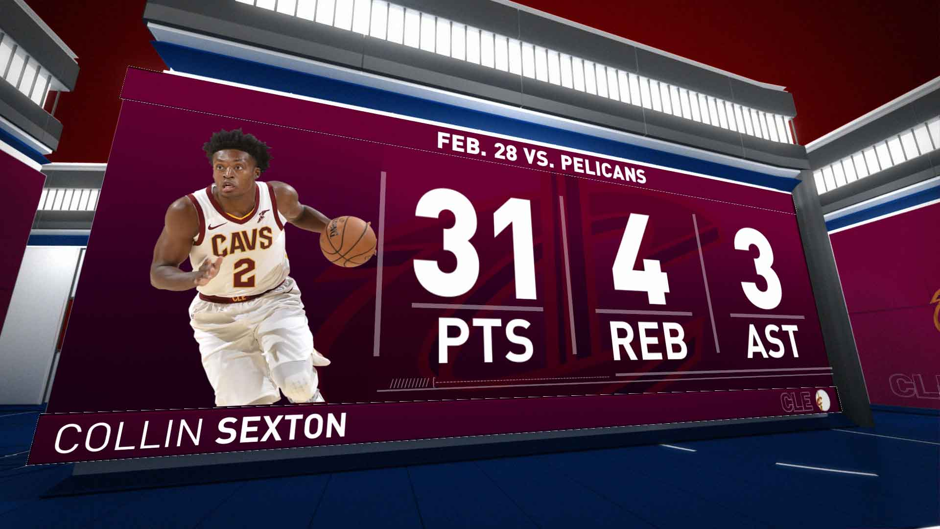 Highlights: Collin Sexton | Cavaliers vs. Pelicans