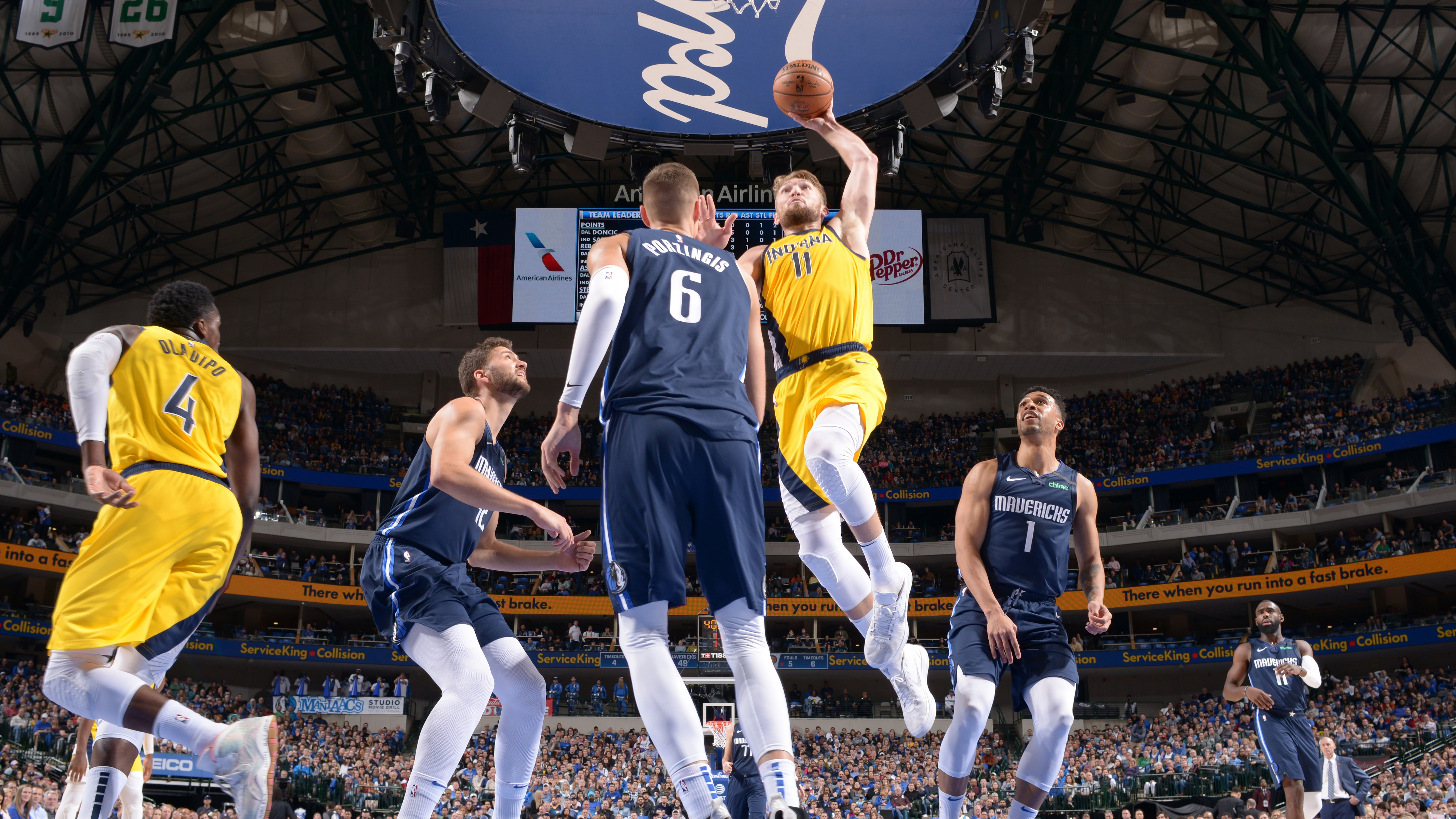 GAME RECAP: Pacers 112, Mavericks 109