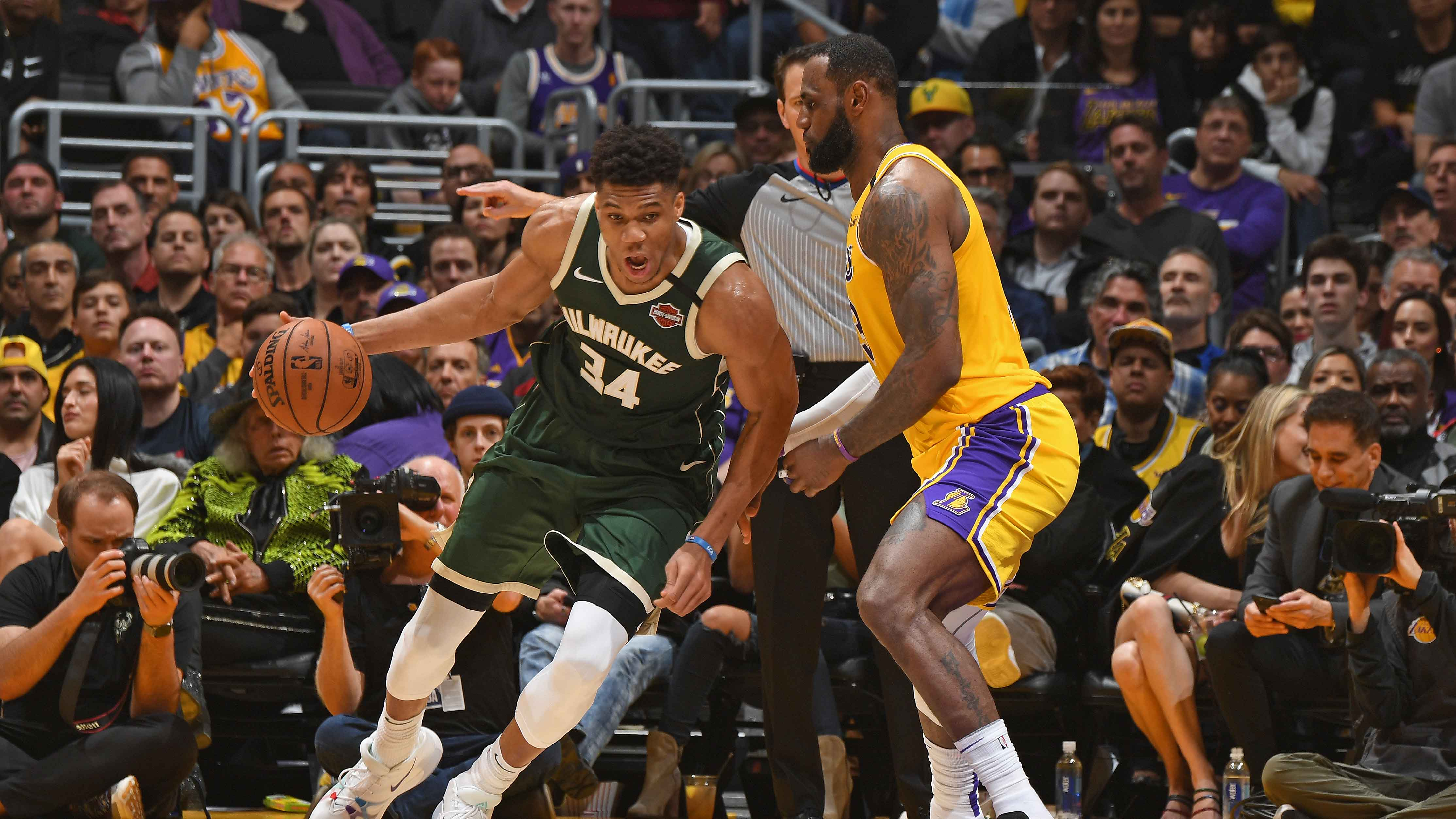 Best of Giannis Antetokounmpo from the Last 5 Seasons