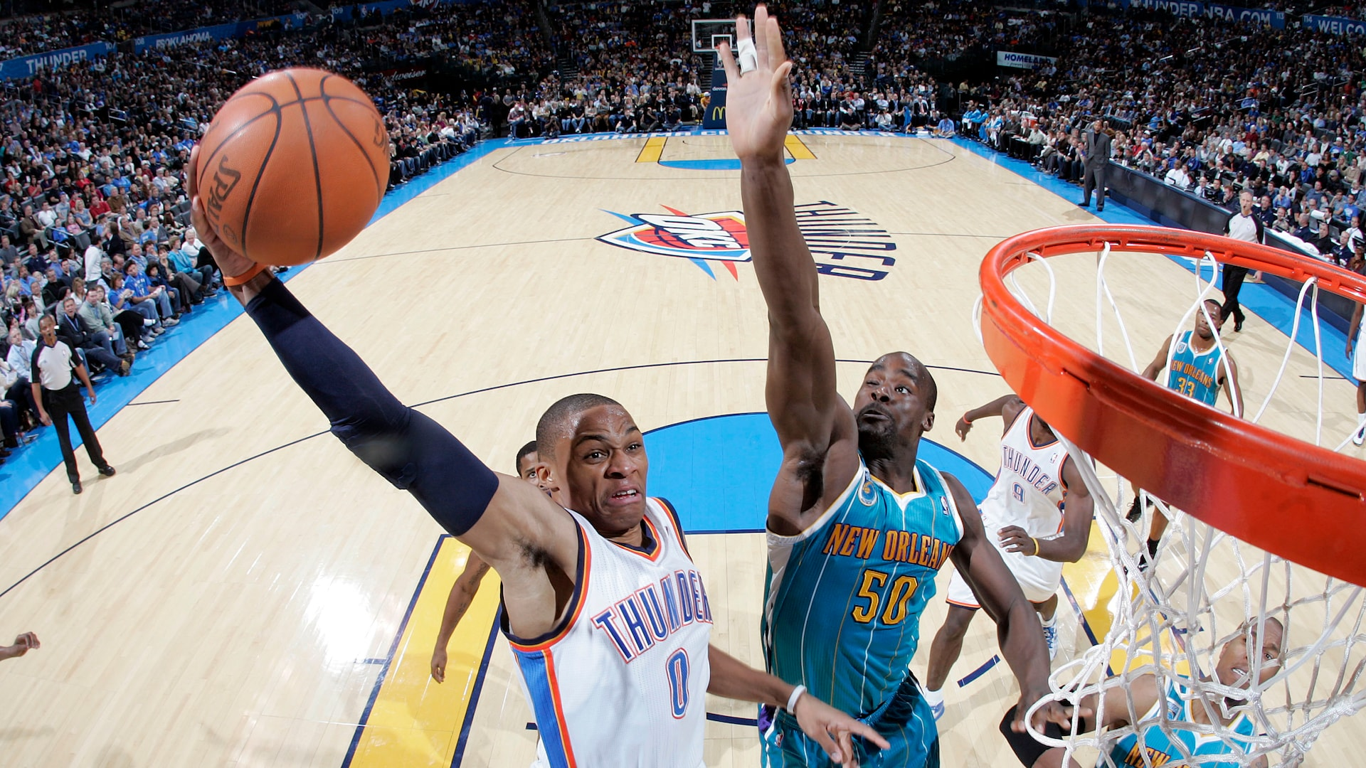 Russell Westbrook S Most Ferocious Transition Dunks From Last 5 Seasons Nba Com