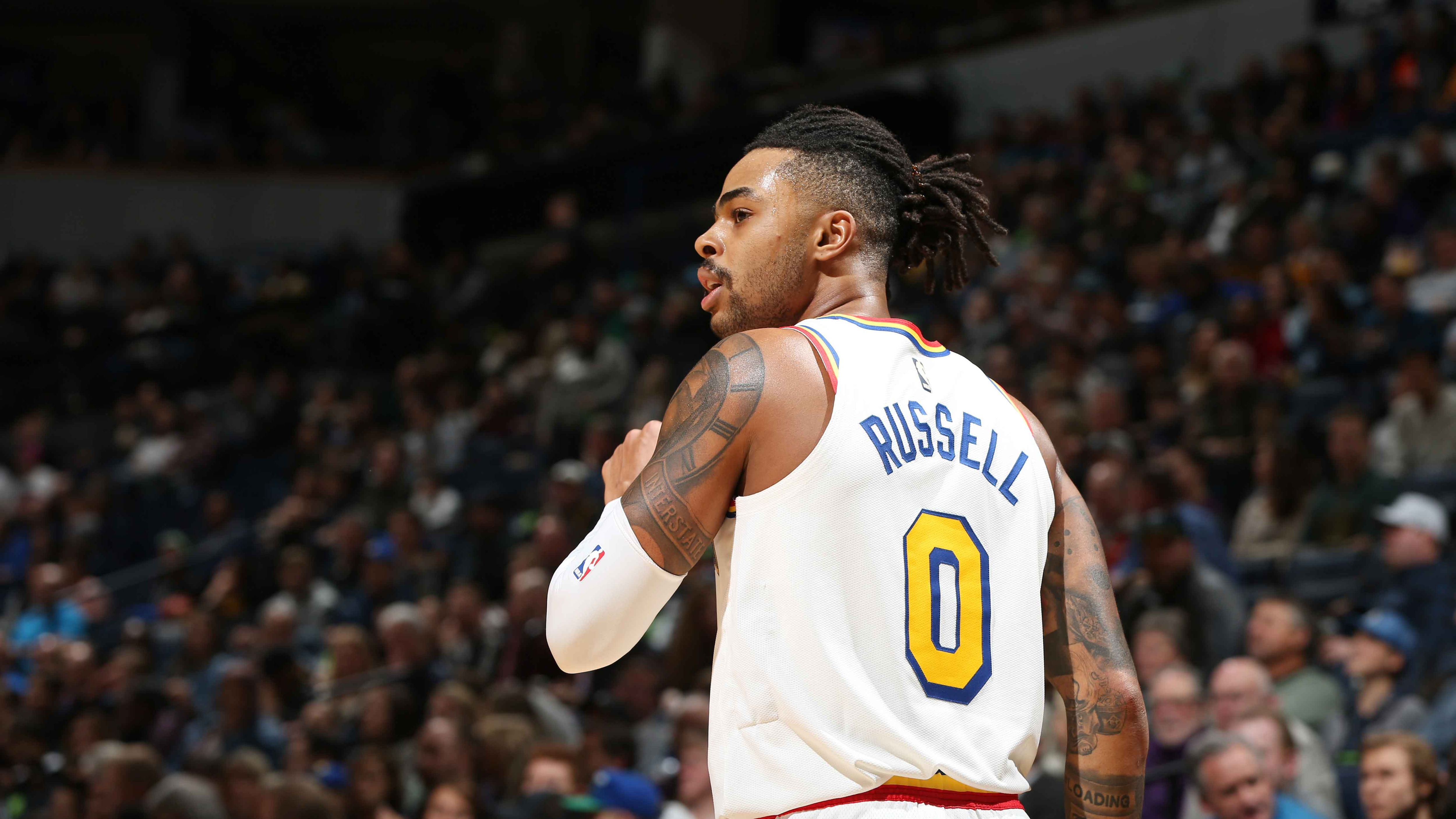 """Best of D'Angelo Russell career """"ice in my veins"""" jumpers"""