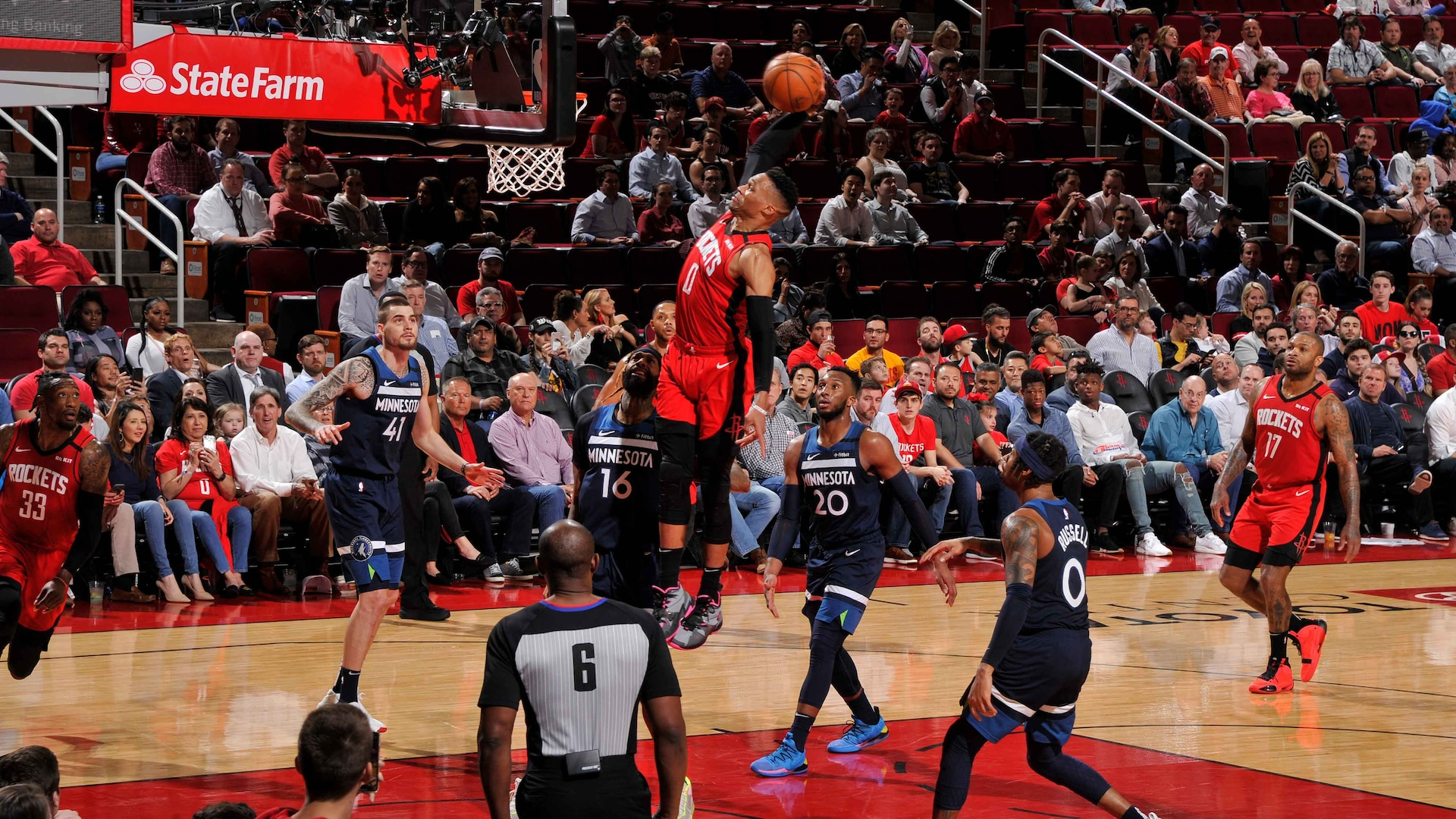 Best Of Russell Westbrook S Transition Dunks From The Last 5 Seasons Nba Com