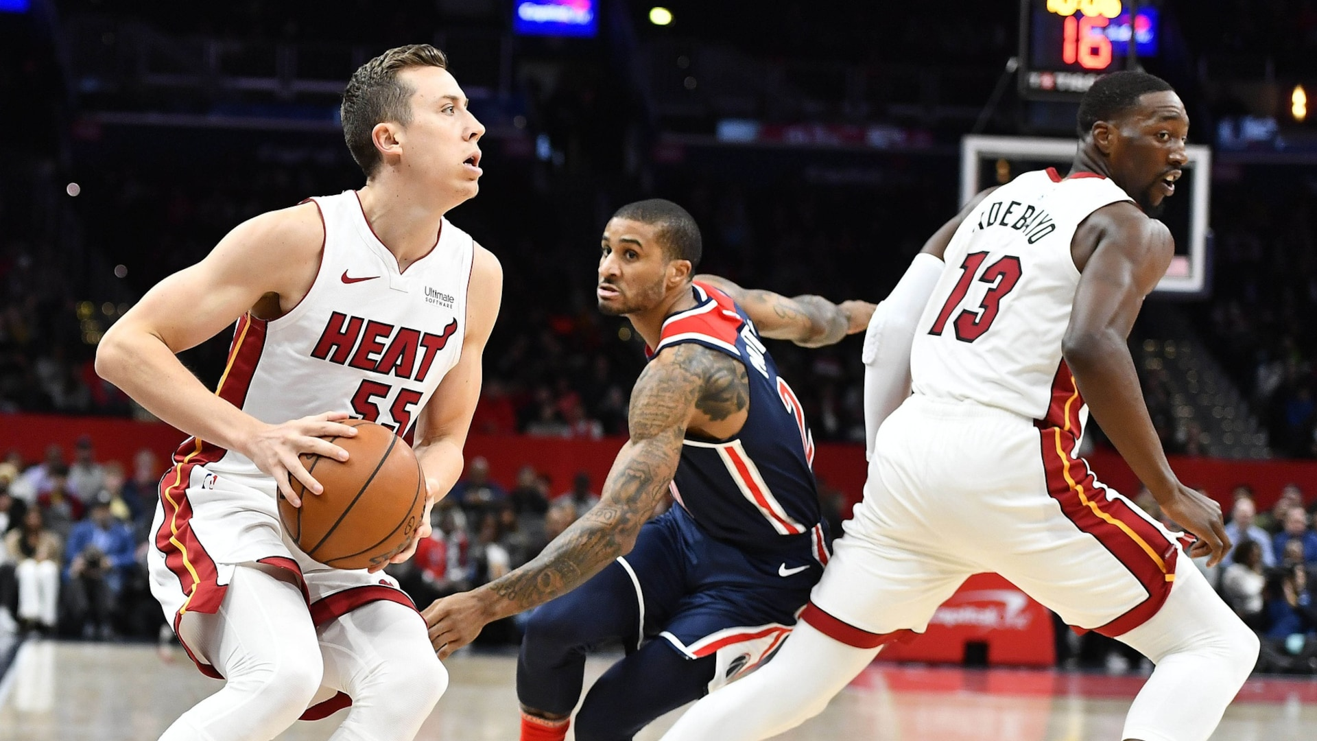 Film Study How Duncan Robinson Impacts Miami S Offense Nba Com