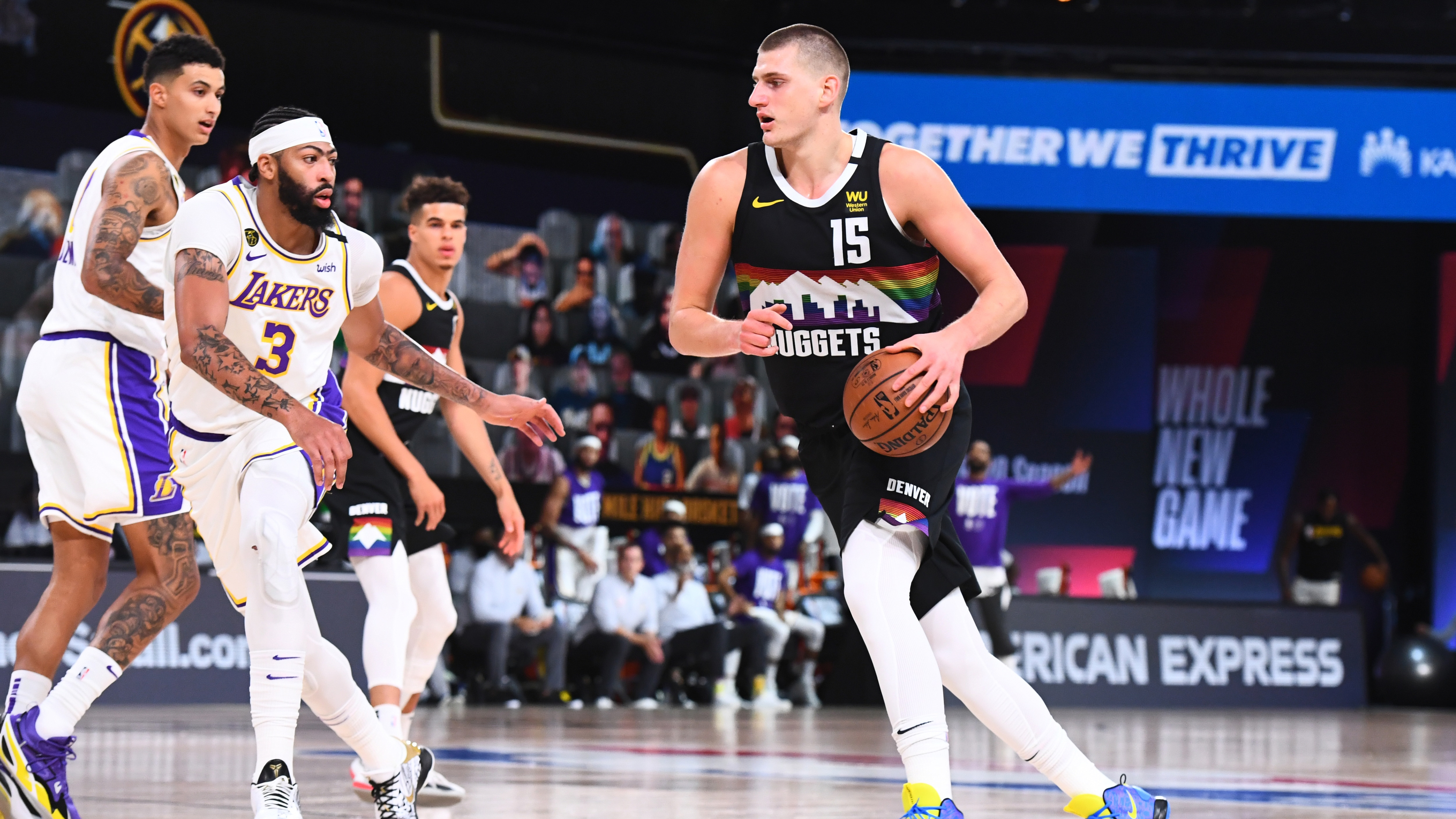 Jokic discusses the Nuggets' resiliency ahead of game 4