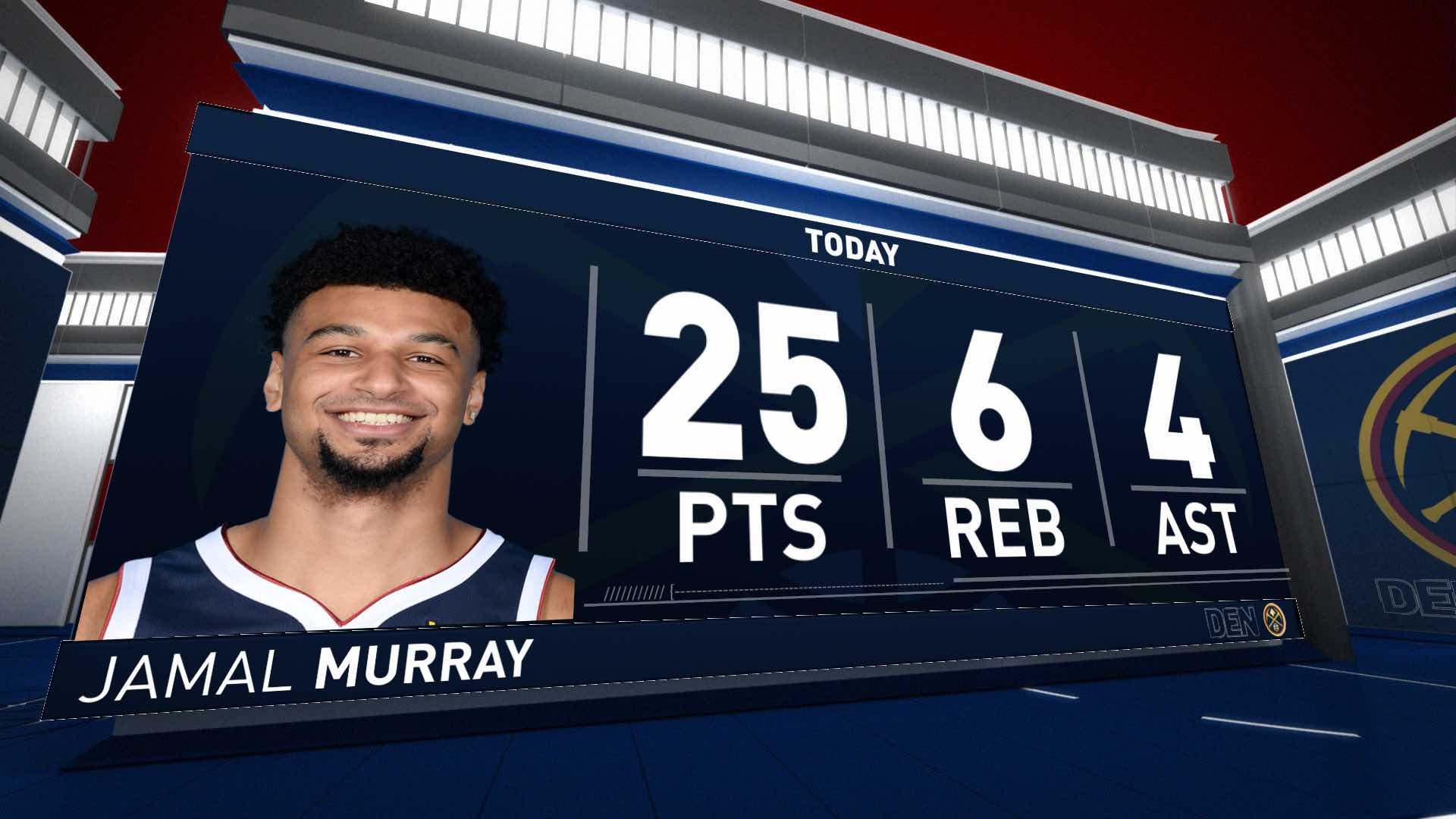 Jamal Murray (25 points) Highlights vs. Los Angeles Lakers