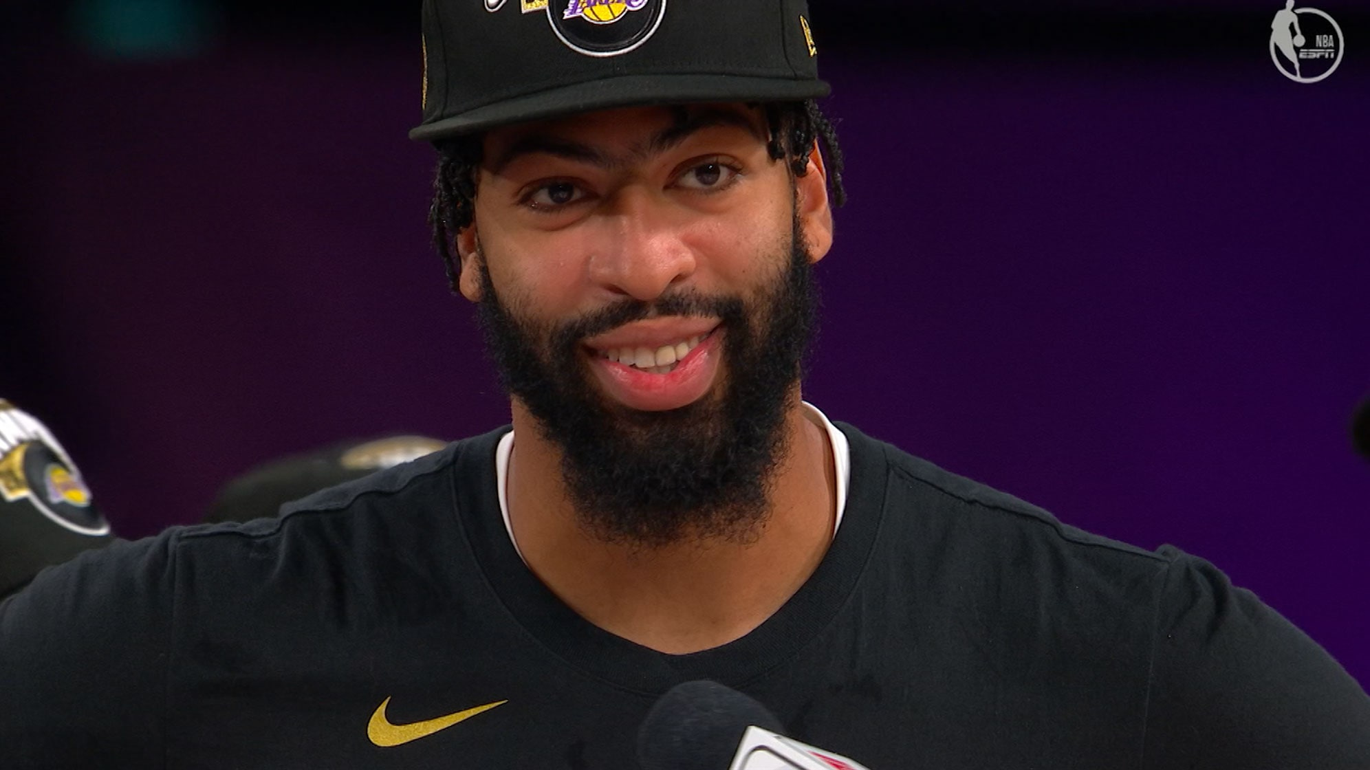 Anthony Davis: 'It's a surreal feeling'