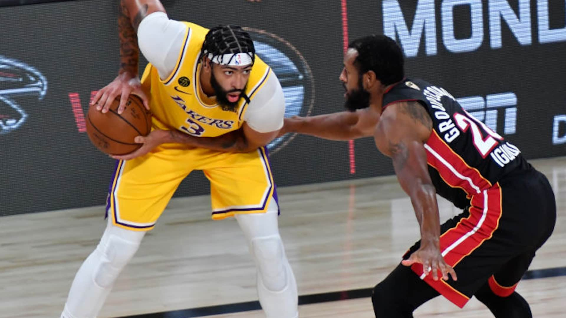 The Finals Stat Game 1 Lakers Beat Heat At Their Own Game Nba Com