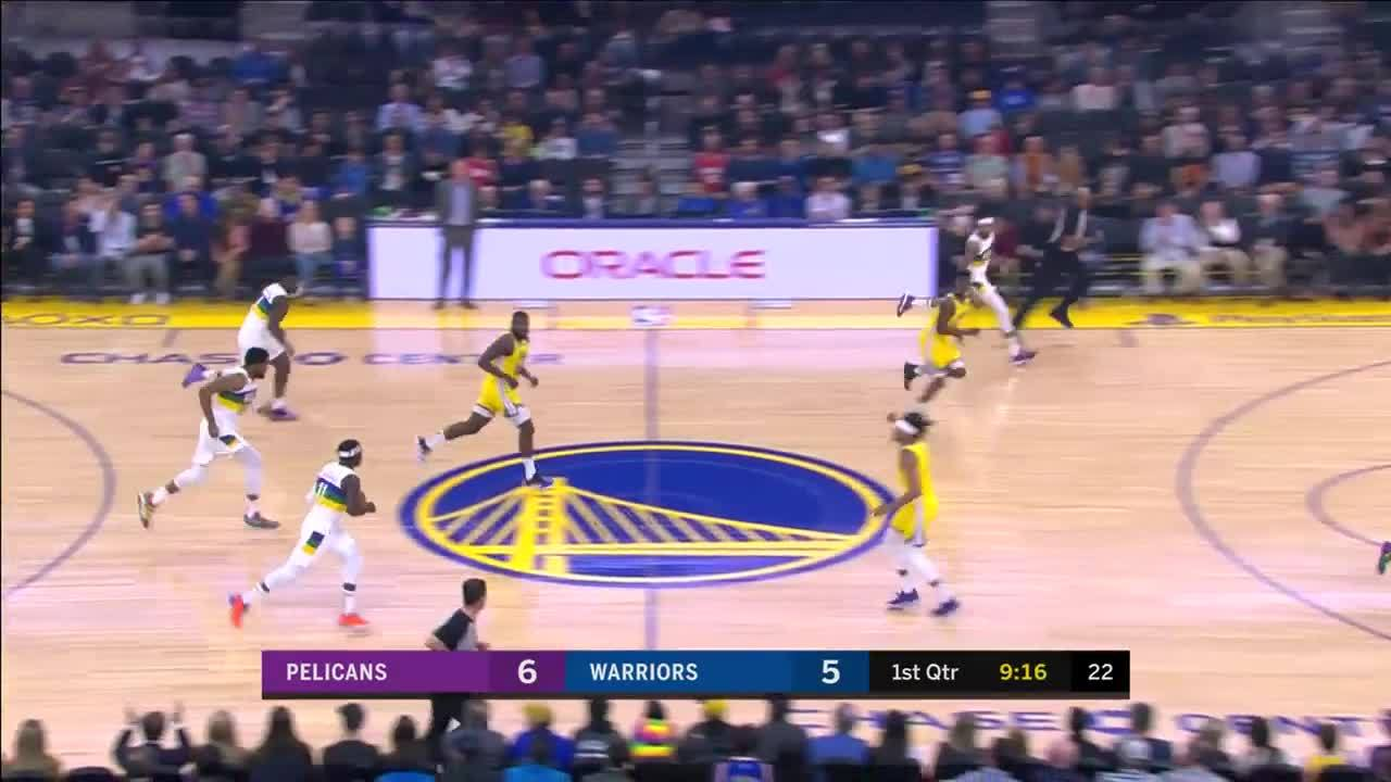 Highlights: Jrue Holiday with 15 Assists vs. Golden State Warriors