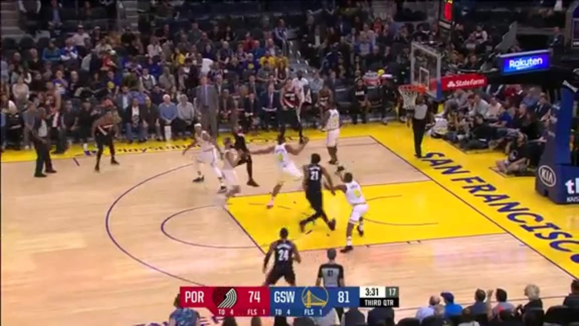 Damian Lillard (39 points) Highlights vs. Golden State Warriors