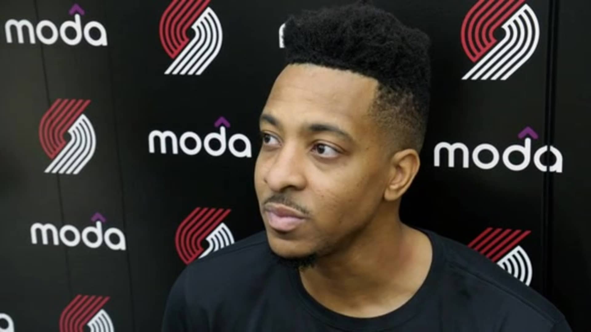 CJ McCollum on leading the league in minutes played, mentality of the Trail Blazers