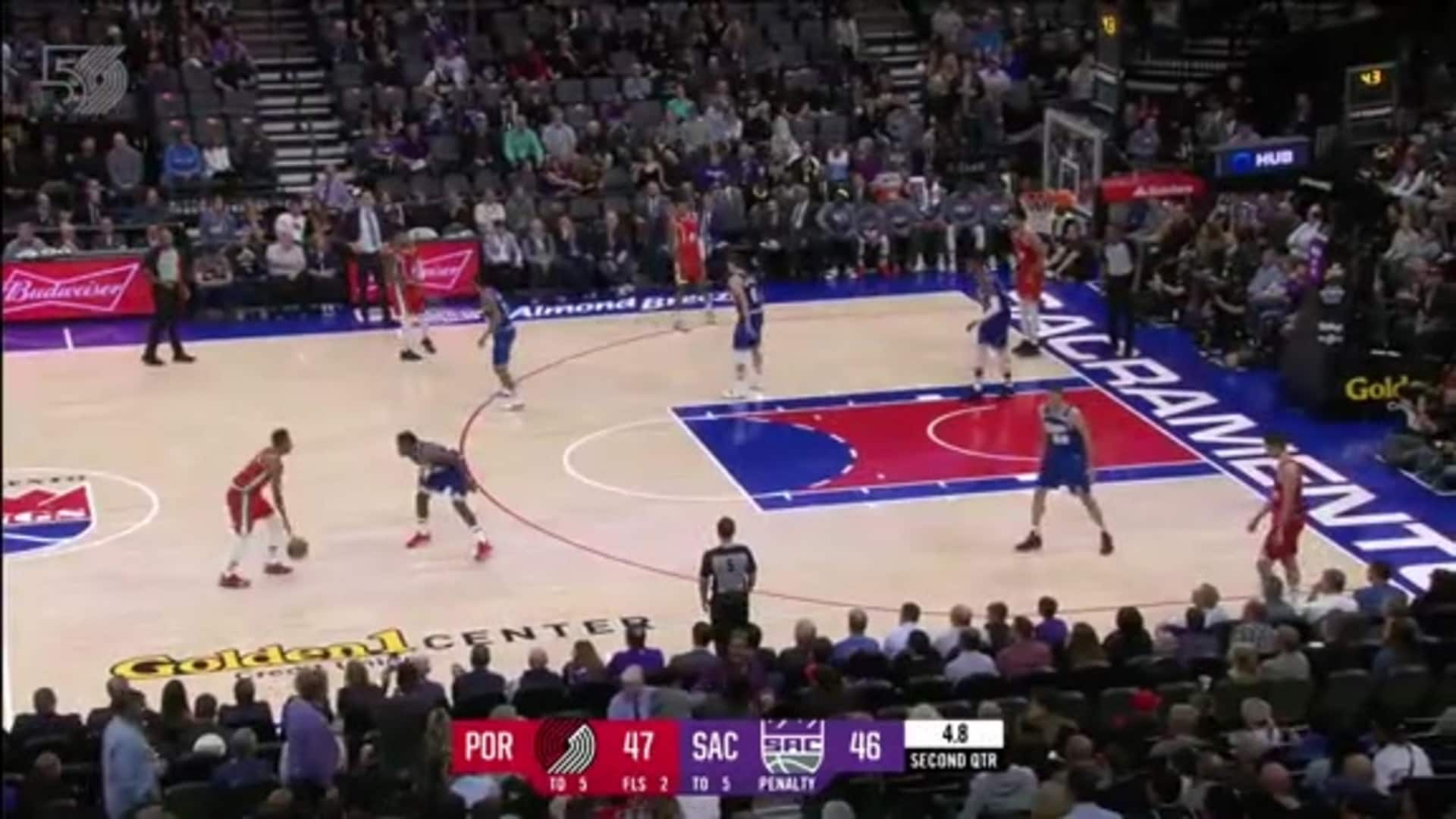 Portland 99, Sacramento 107   Game Highlights by McDelivery