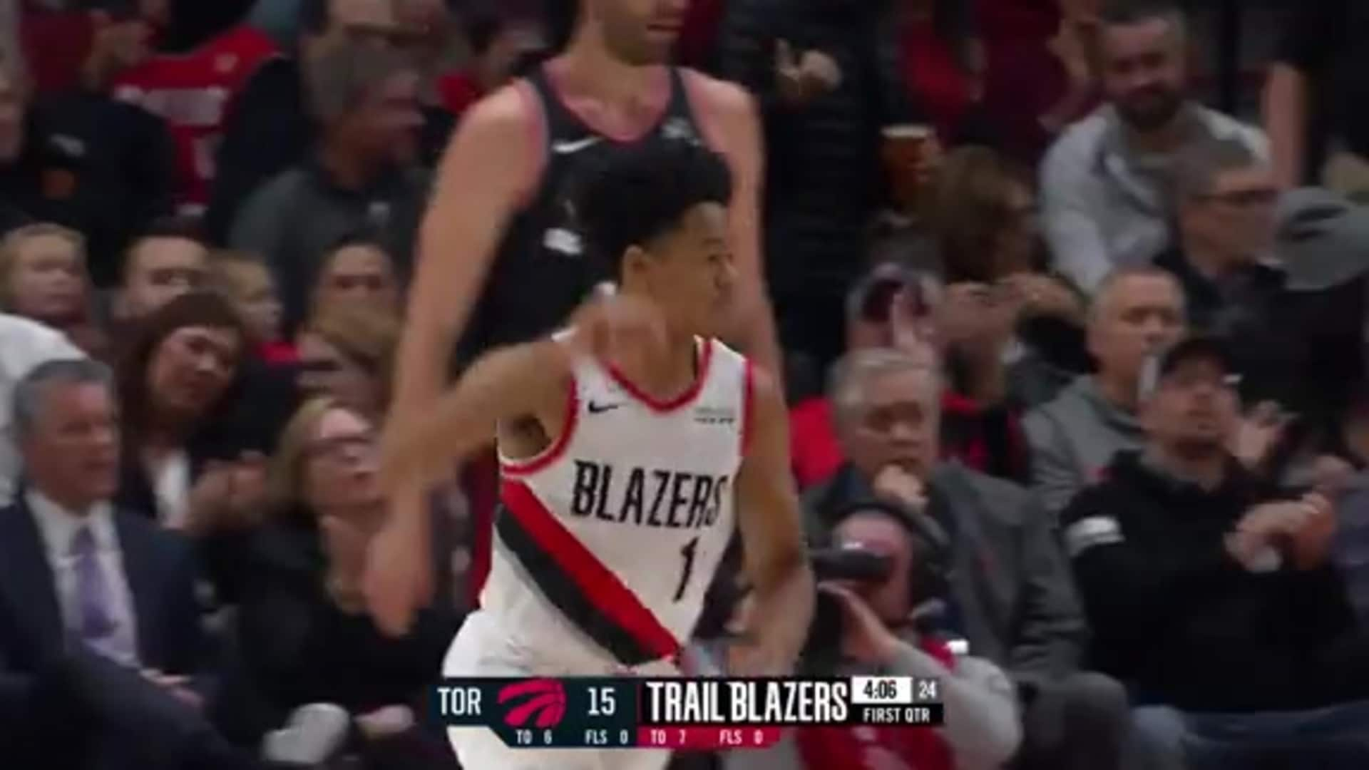 Dame finds Simons for the floater