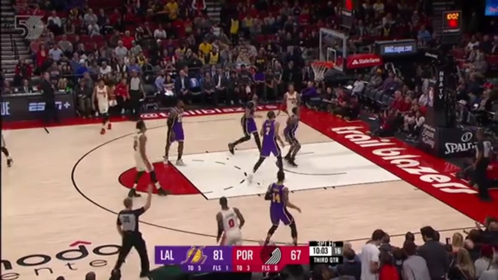 Portland 113, Lakers 136 | Game Highlights by McDelivery