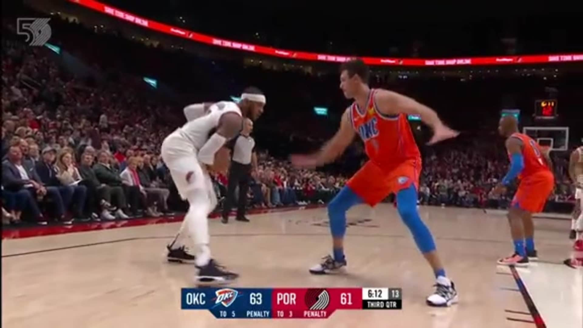 Portland 96, Thunder 108 | Game Highlights by McDelivery