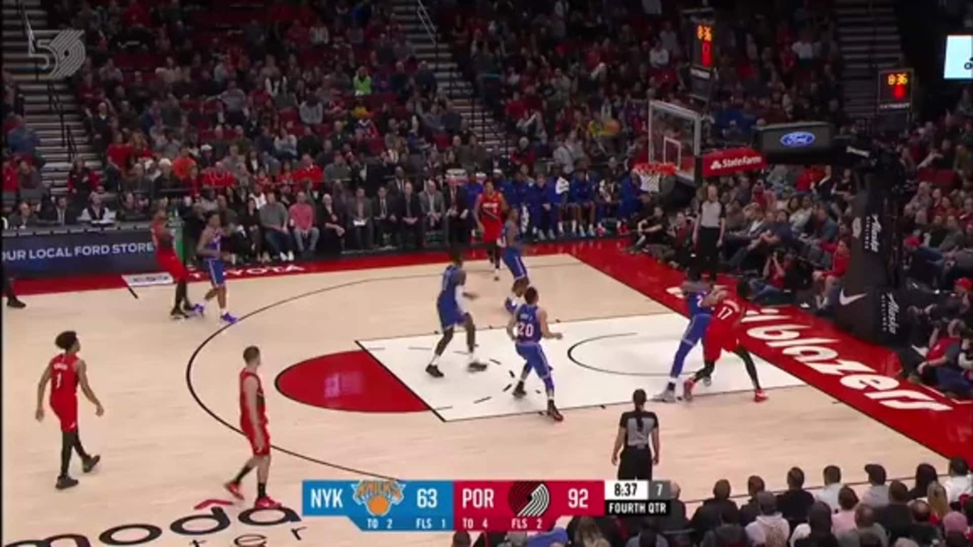 Portland 115, New York 87 | Game Highlights by McDelivery