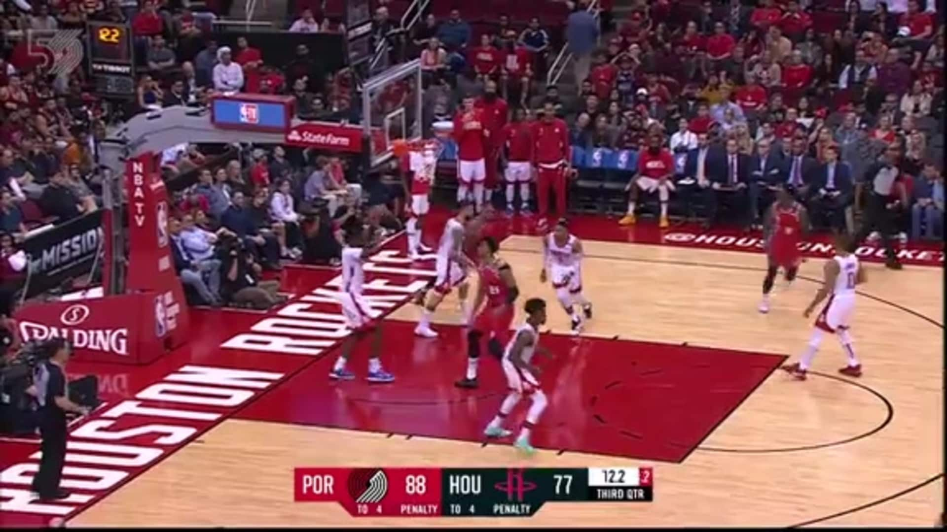 Portland 117, Houston 107 | Game Highlights by McDelivery