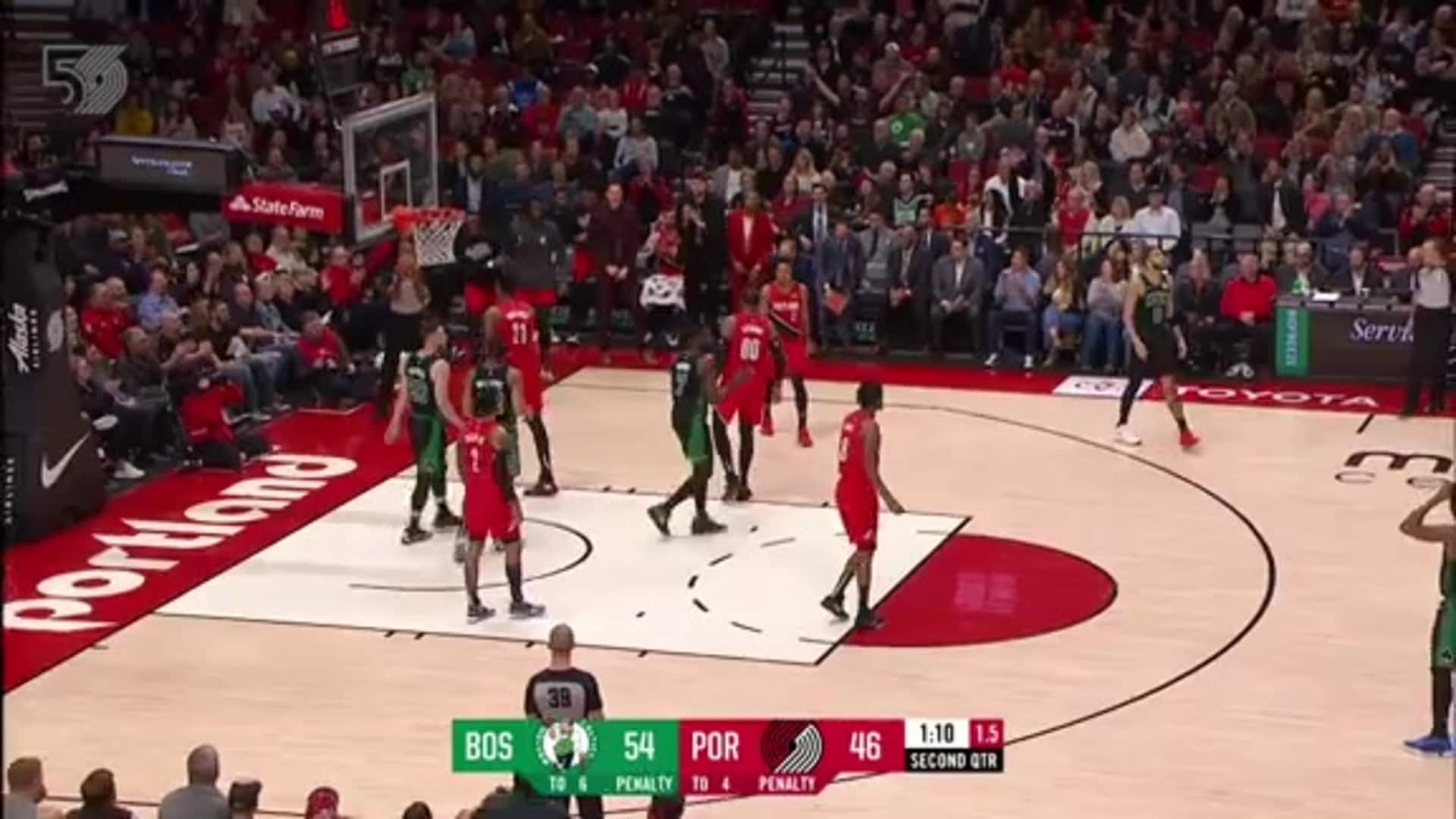 Portland 106, Boston 118 | Game Highlights by McDelivery