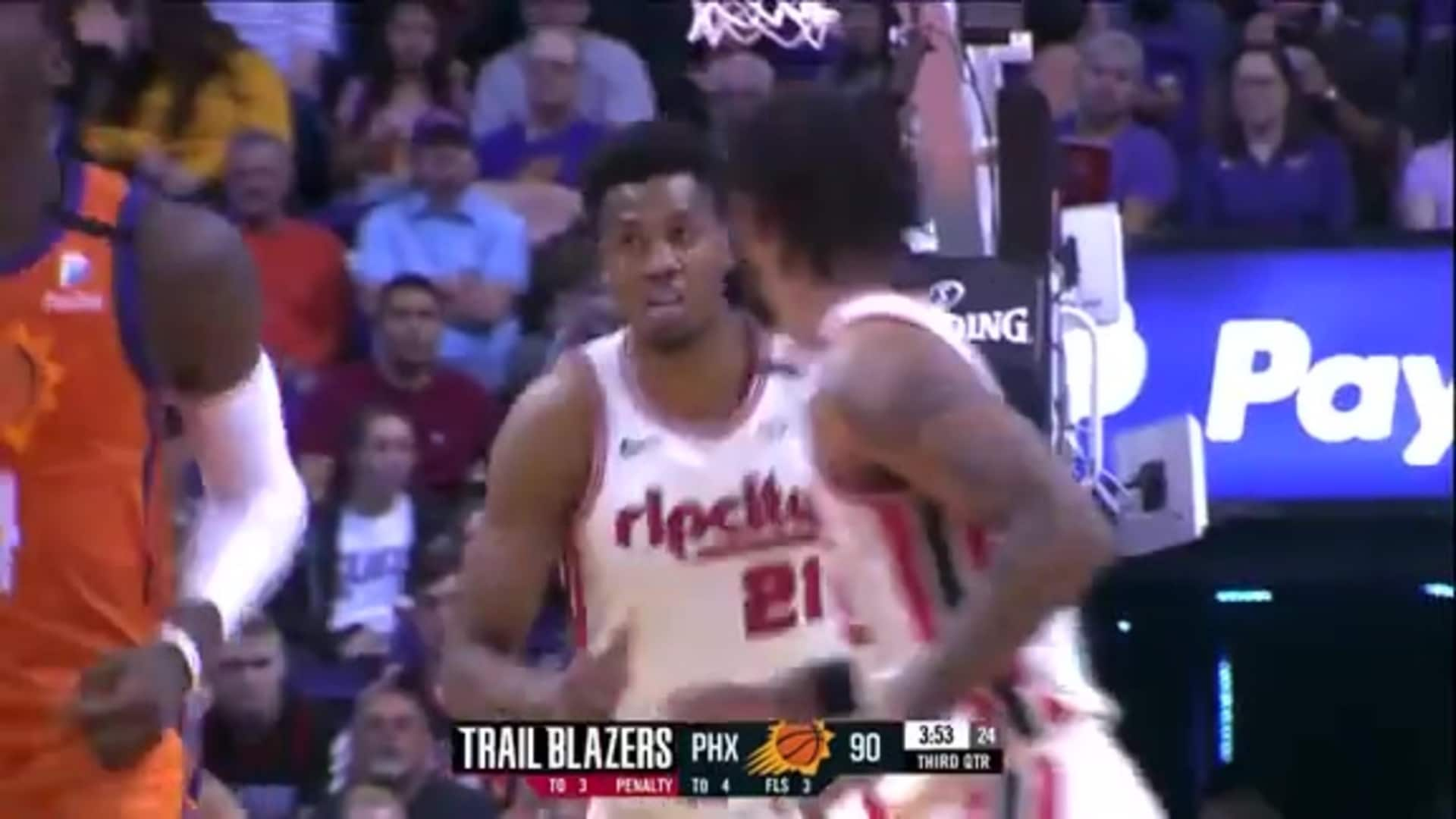 Hassan Whiteside (23 PTS, 20 REB, 4 BLK) Highlights at Suns