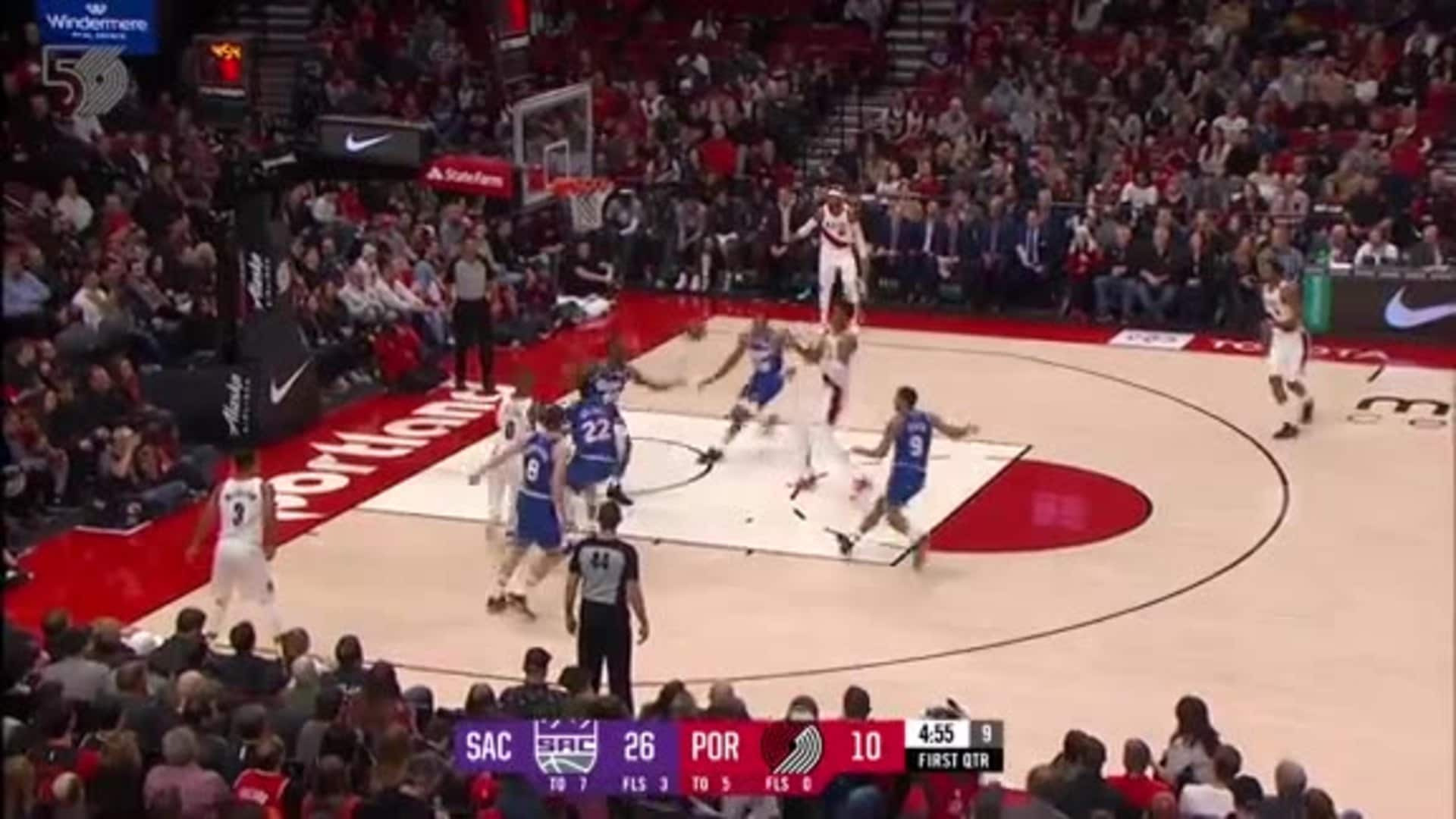 Portland 111, Sacramento 123 | Game Highlights by McDelivery