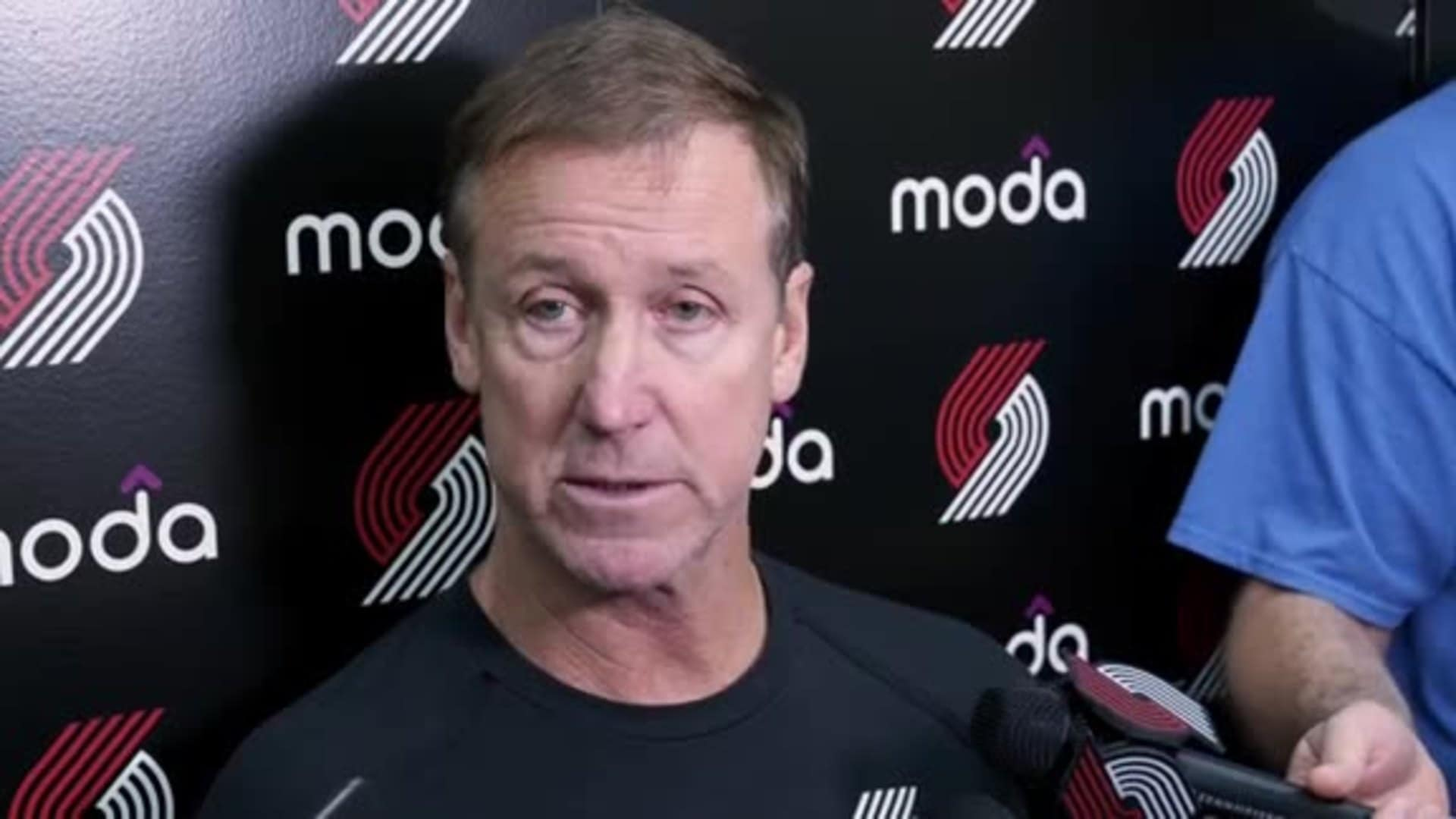 Terry Stotts talks about the impending return of Jusuf Nurkić
