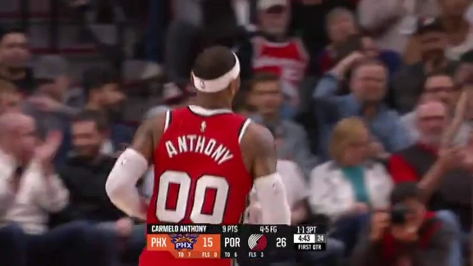 Carmelo Anthony (21 PTS) Highlights vs. Suns