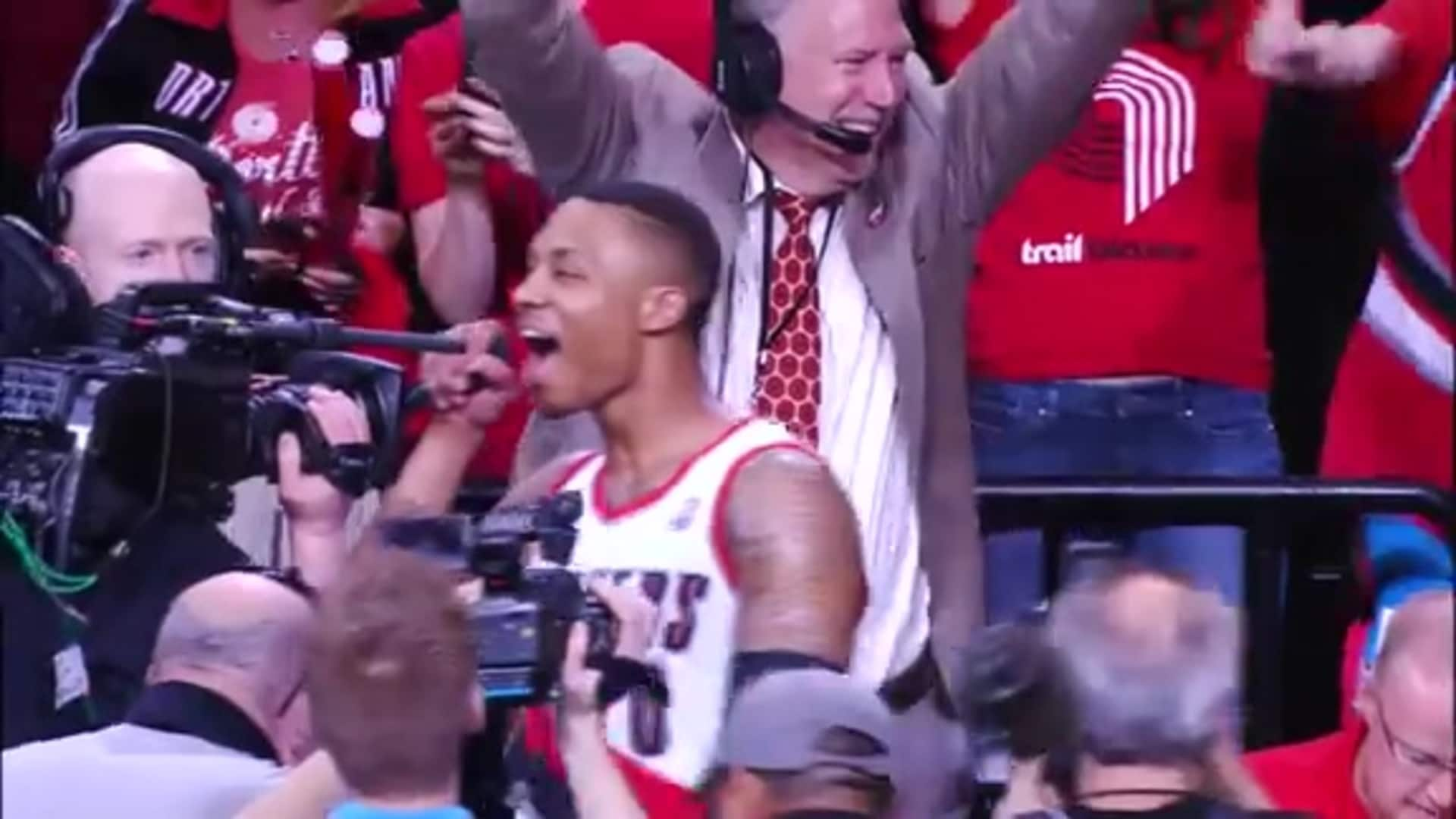Roy and Lillard Game Winners vs. Houston | Classic Trail Blazers Games