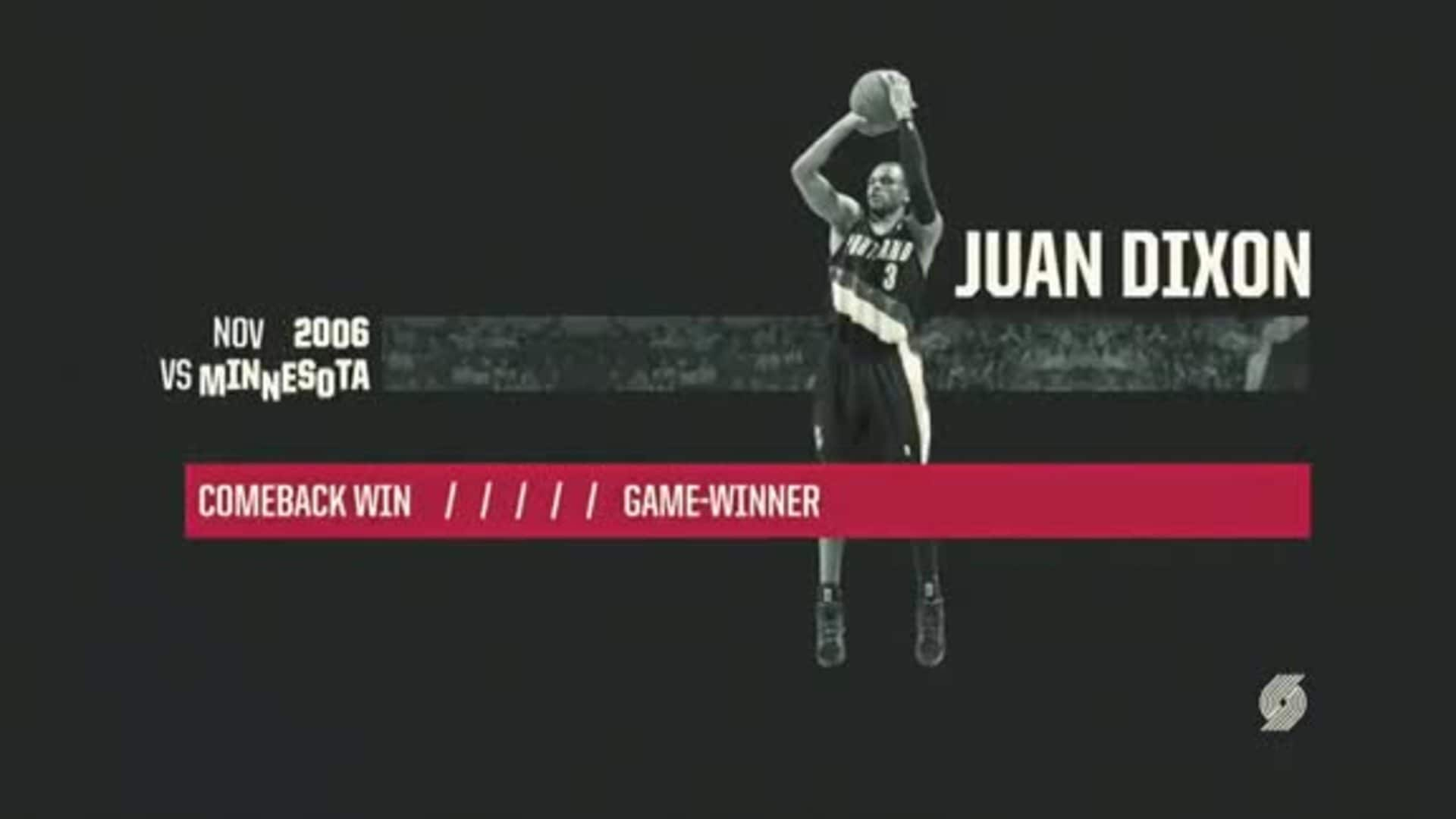 Juan Dixon hits the game-winner vs. Minnesota | Classic Trail Blazers Games