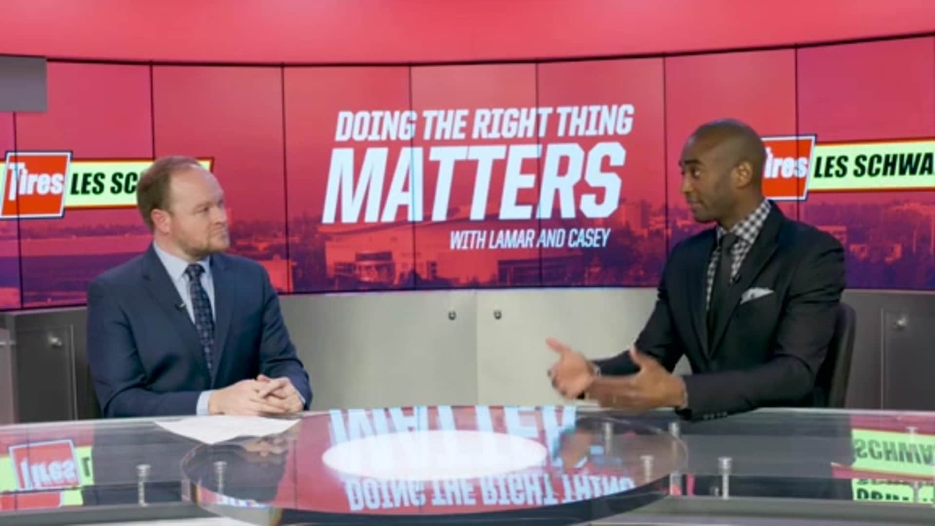 Carmelo Anthony Then vs. Now | Doing the Right Thing Matters presented by Les Schwab