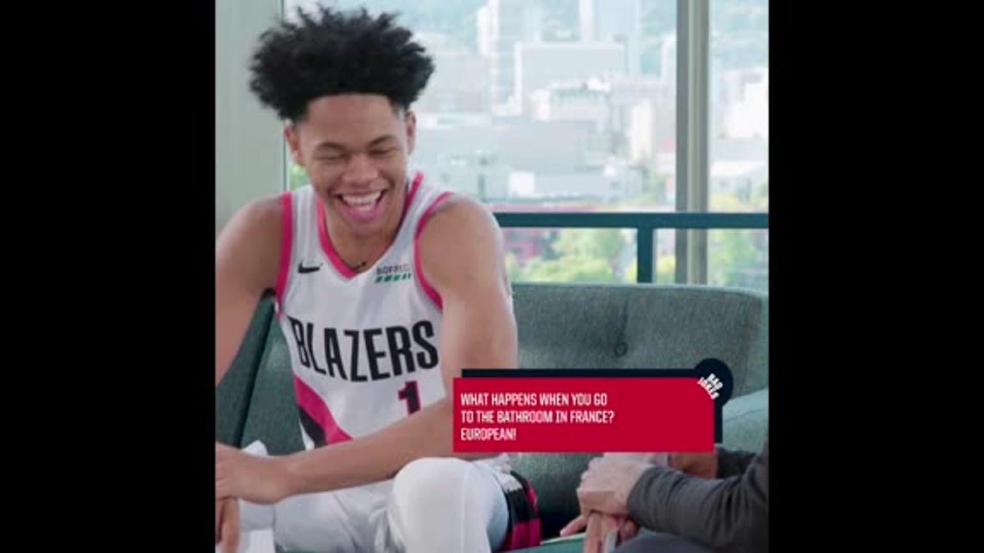 Trail Blazers Tell Terrible Jokes