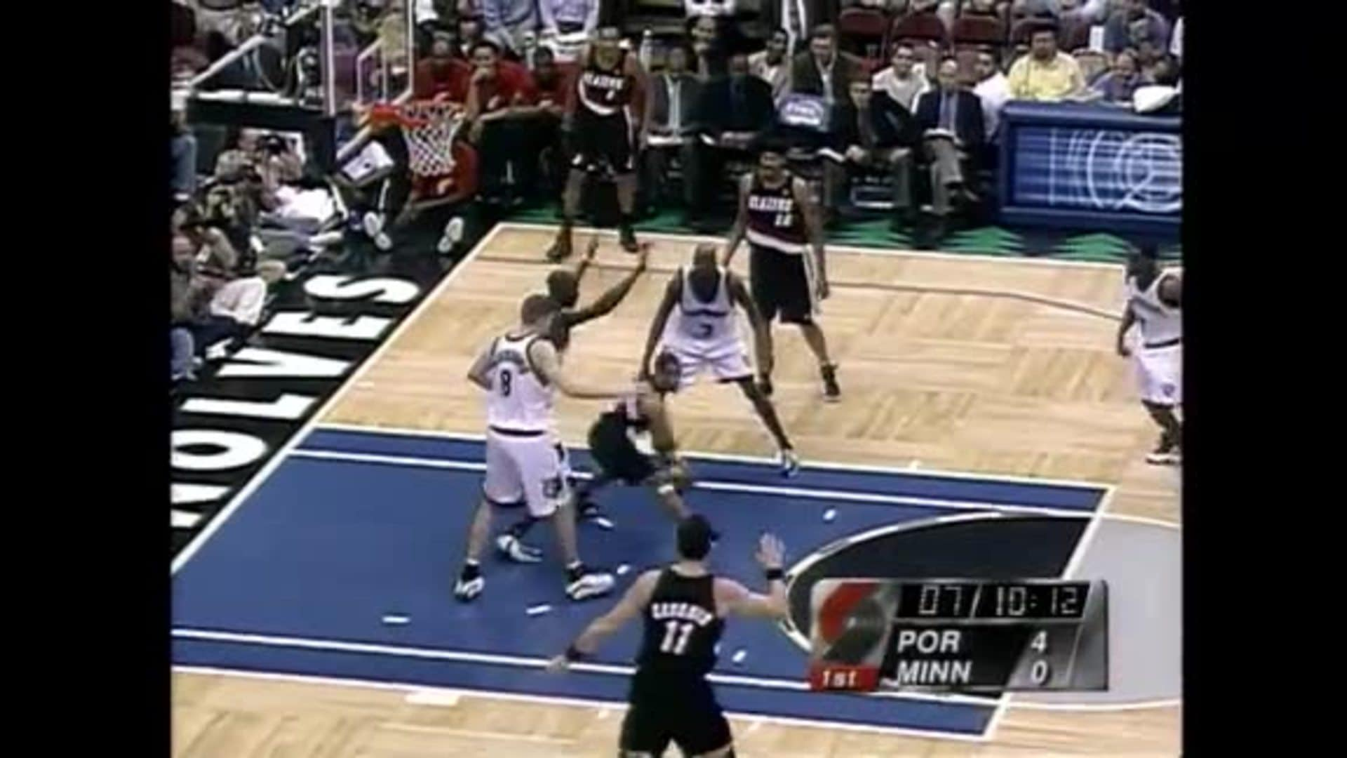 Blazers Eliminate Timberwolves from 2000 Playoffs | Trail Blazers Classic Games