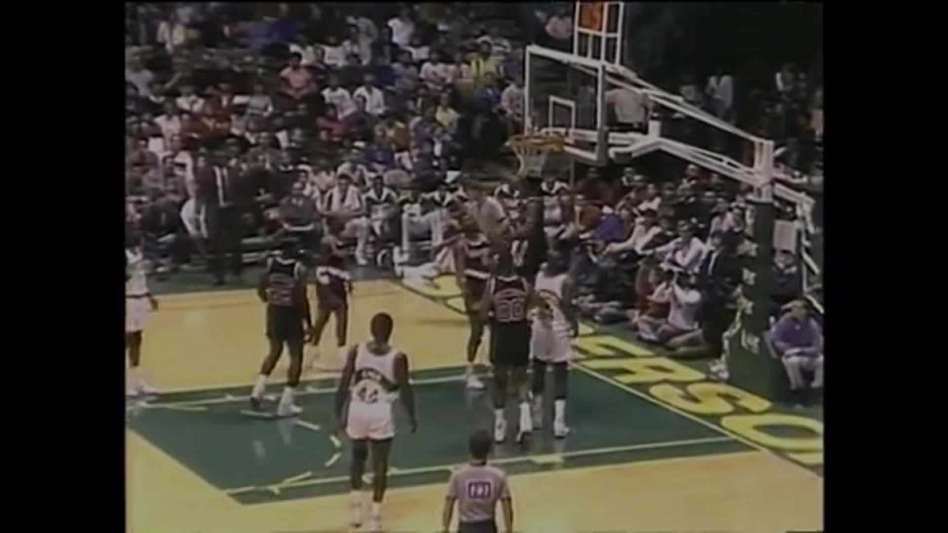 Portland's Triple OT Win Over Seattle in 1990 | Trail Blazers Classic Games